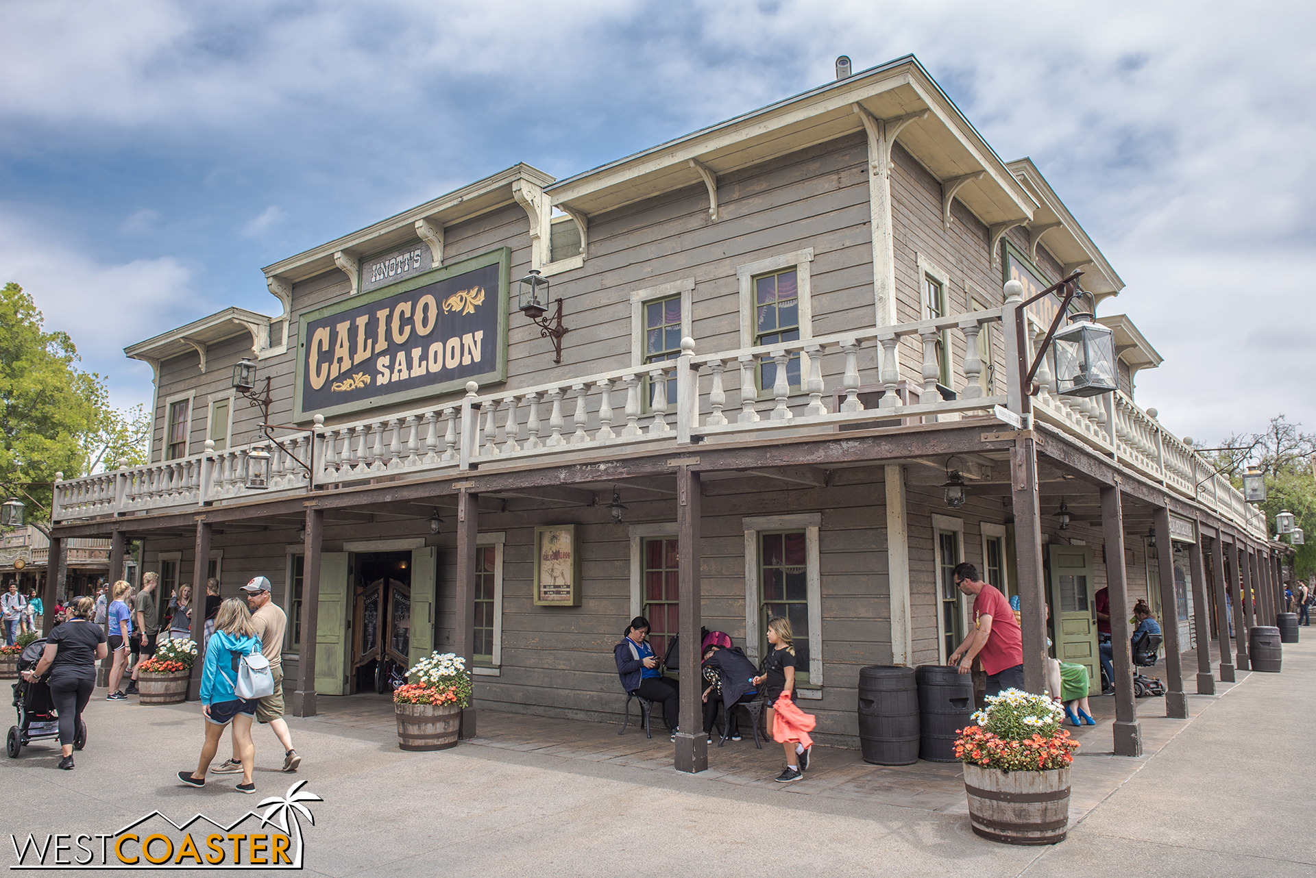 The Saloon plays host to an exciting shootout scene, just as it has in previous Ghost Town Alive! seasons.