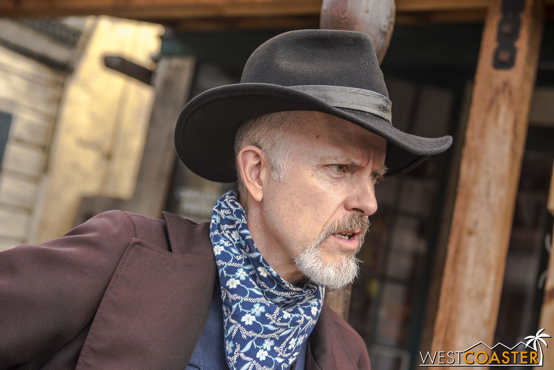 Then there are the various members of the Mayfield Gang.  There's Ox, the patriarch who made his dramatic debut on the last day of season one of Ghost Town Alive! and was a mainstay last summer throughout season two.