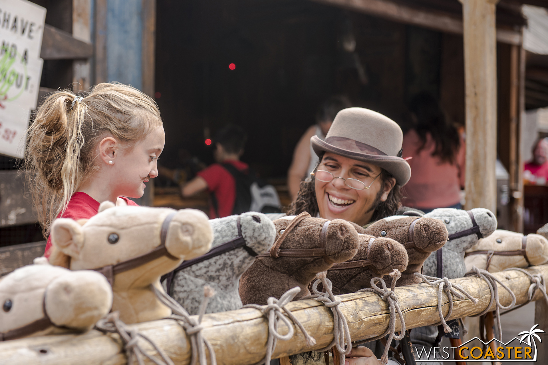 These are the heart-warming moments that make Ghost Town Alive! so fulfilling for both guests and actors.