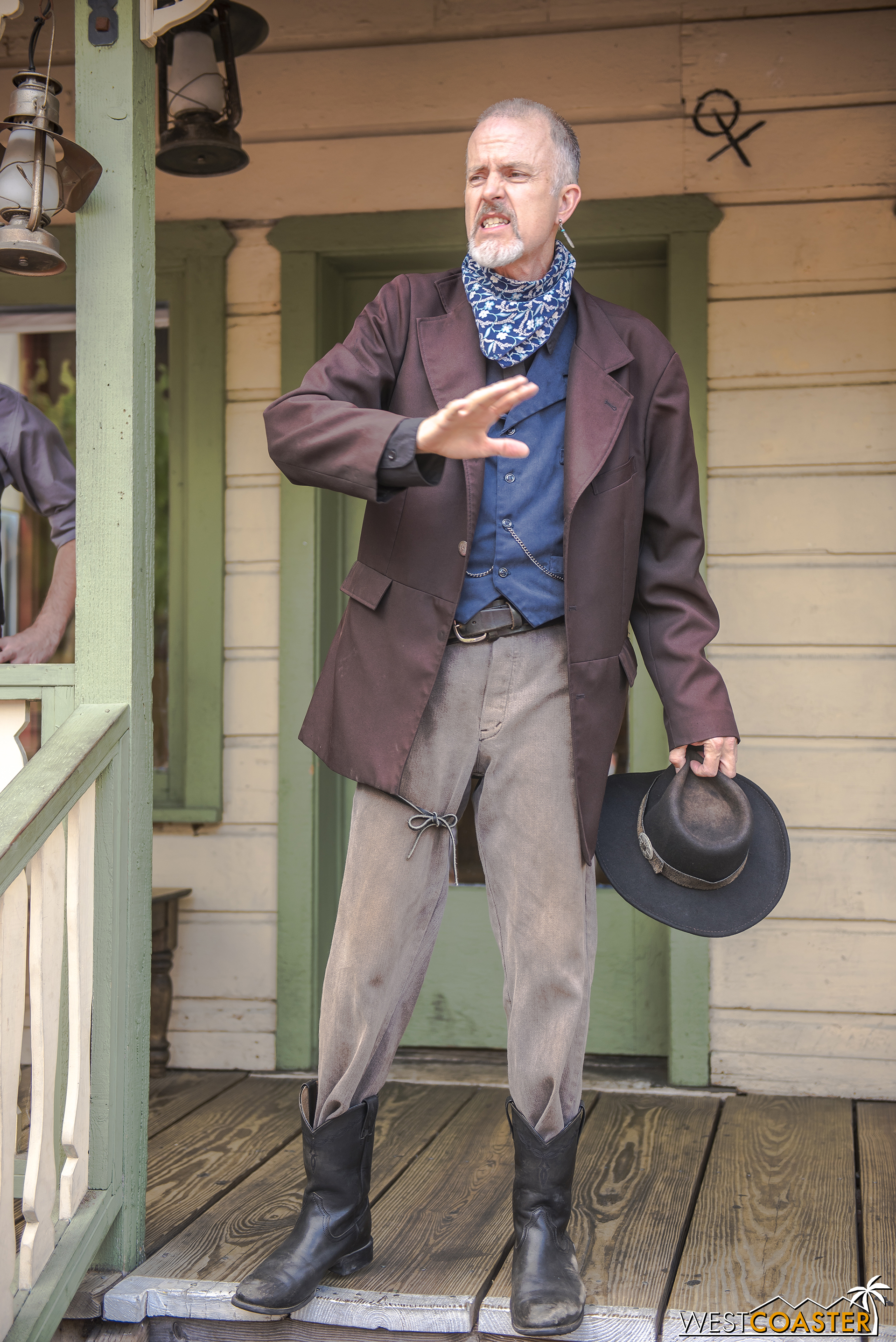 Be it stealing a train to help his son break out of jail at the end of season 1 or trying to reclaim the Calico deed throughout season 2 because he loved the city or getting into a shootout earlier in the day because he loved his wife… Ox was only committing crimes out of love.
