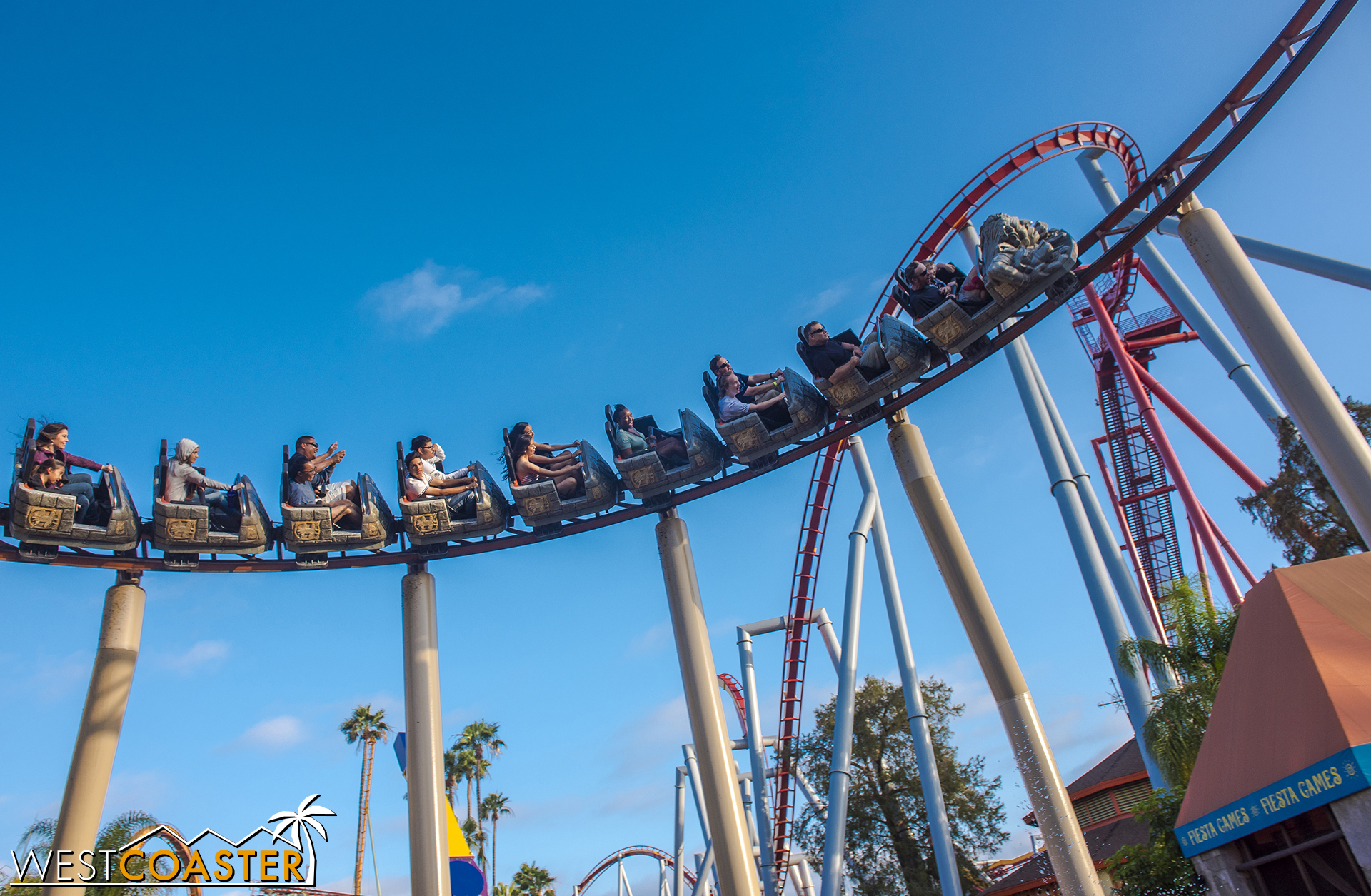 Flying by Silver Bullet in the background.