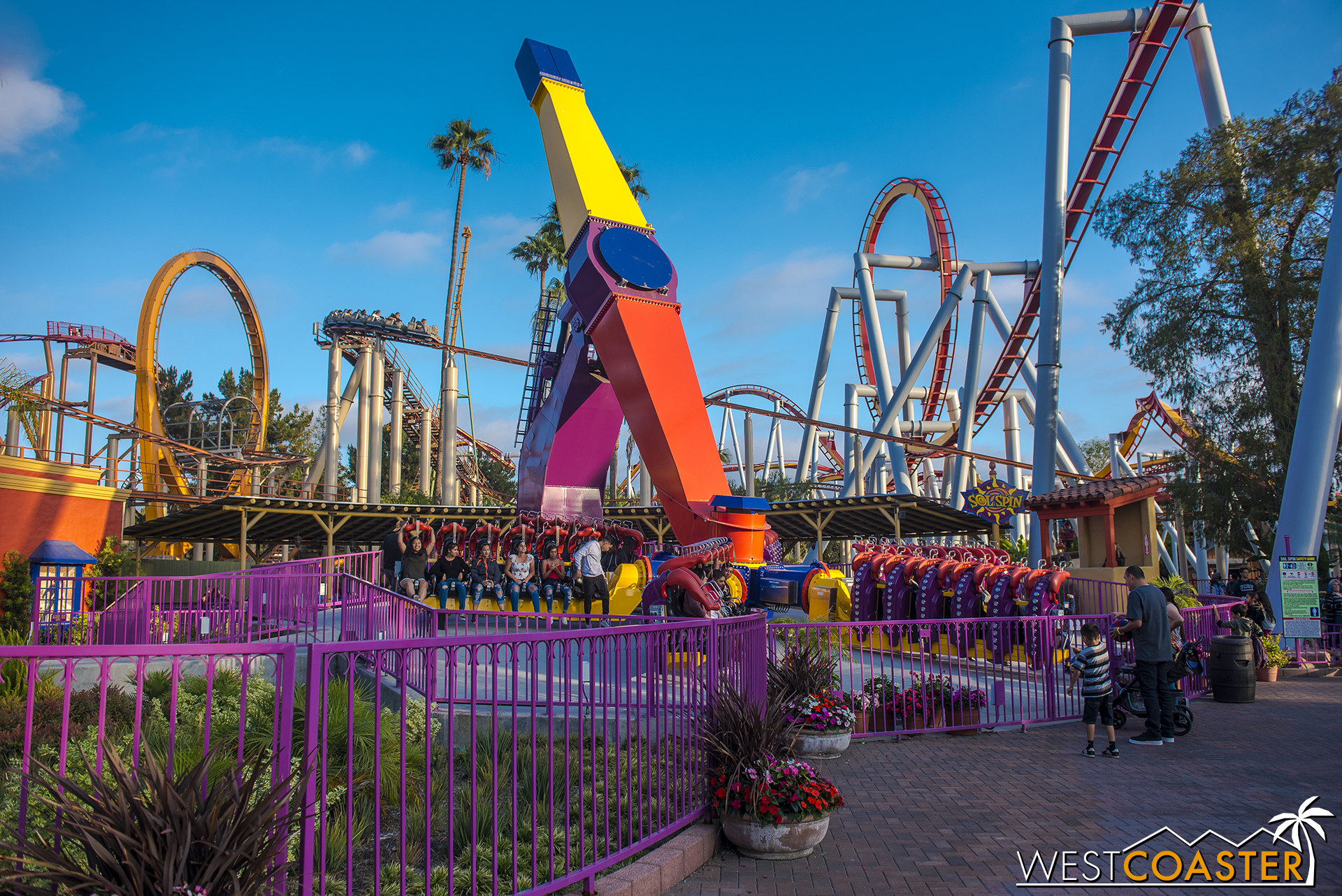 Also, Sol Spin seems to have evaded the Curse of Windjammer.  It's a very fun ride.