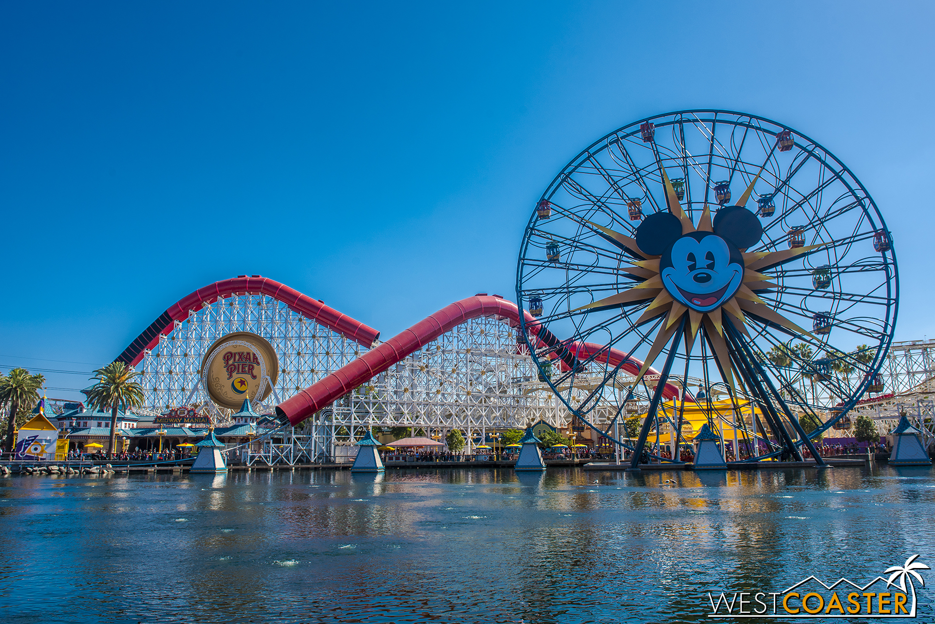 The Incredicoaster and the Pixar Pal-A-Round.