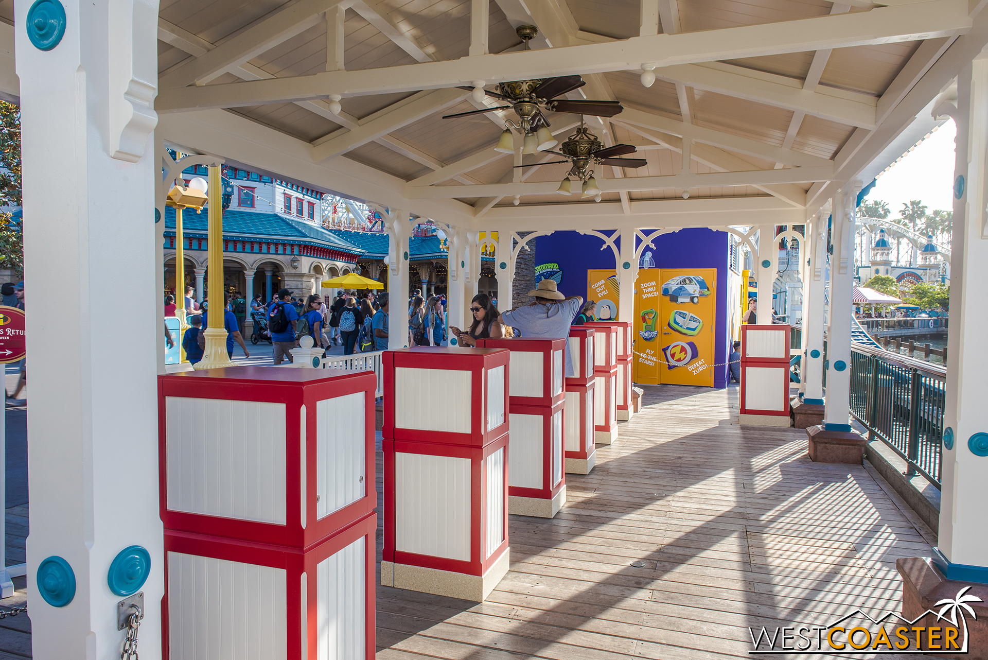Fastpasses for Toy Story and the Incredicoaster can be obtained here.