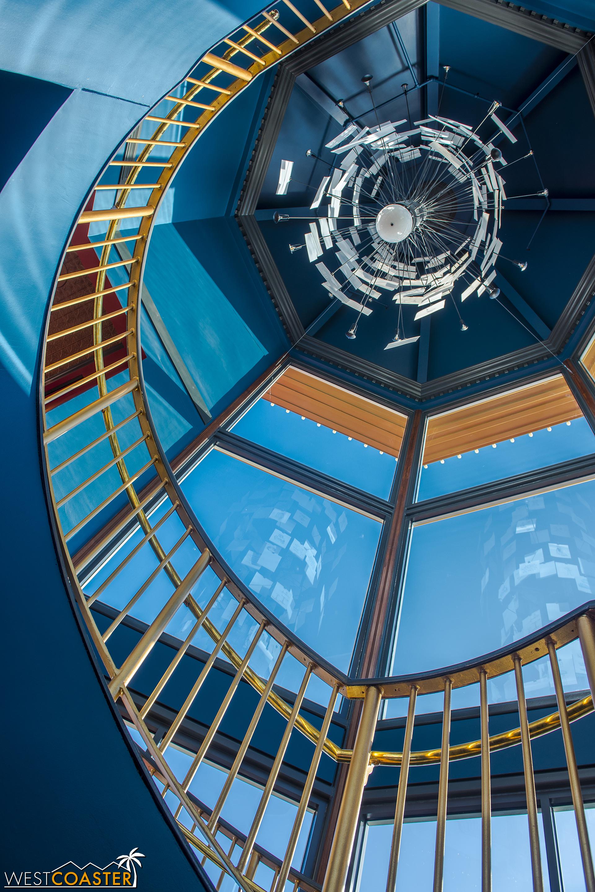 Upstairs…