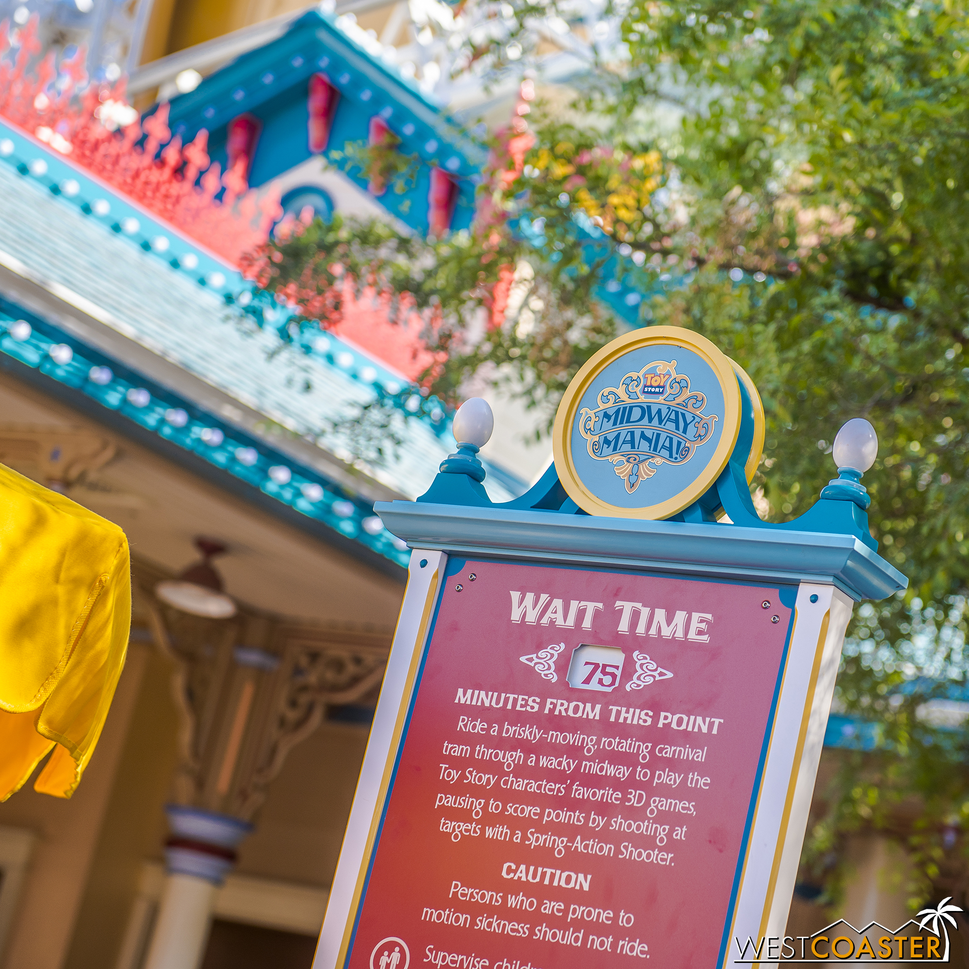 Toy Story is getting longer waits now too, probably partly from the Pixar Pier activity and partly from the addition of FastPass.