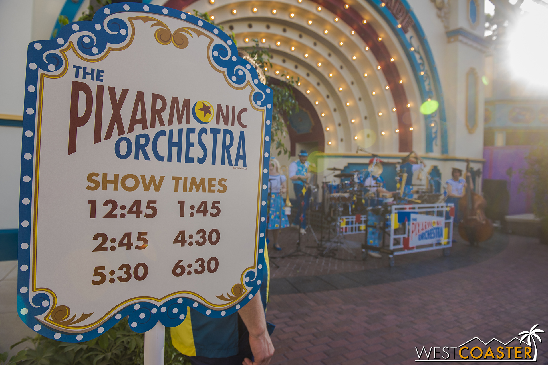 It's also the new home of the Pixarmonic Orchestra!