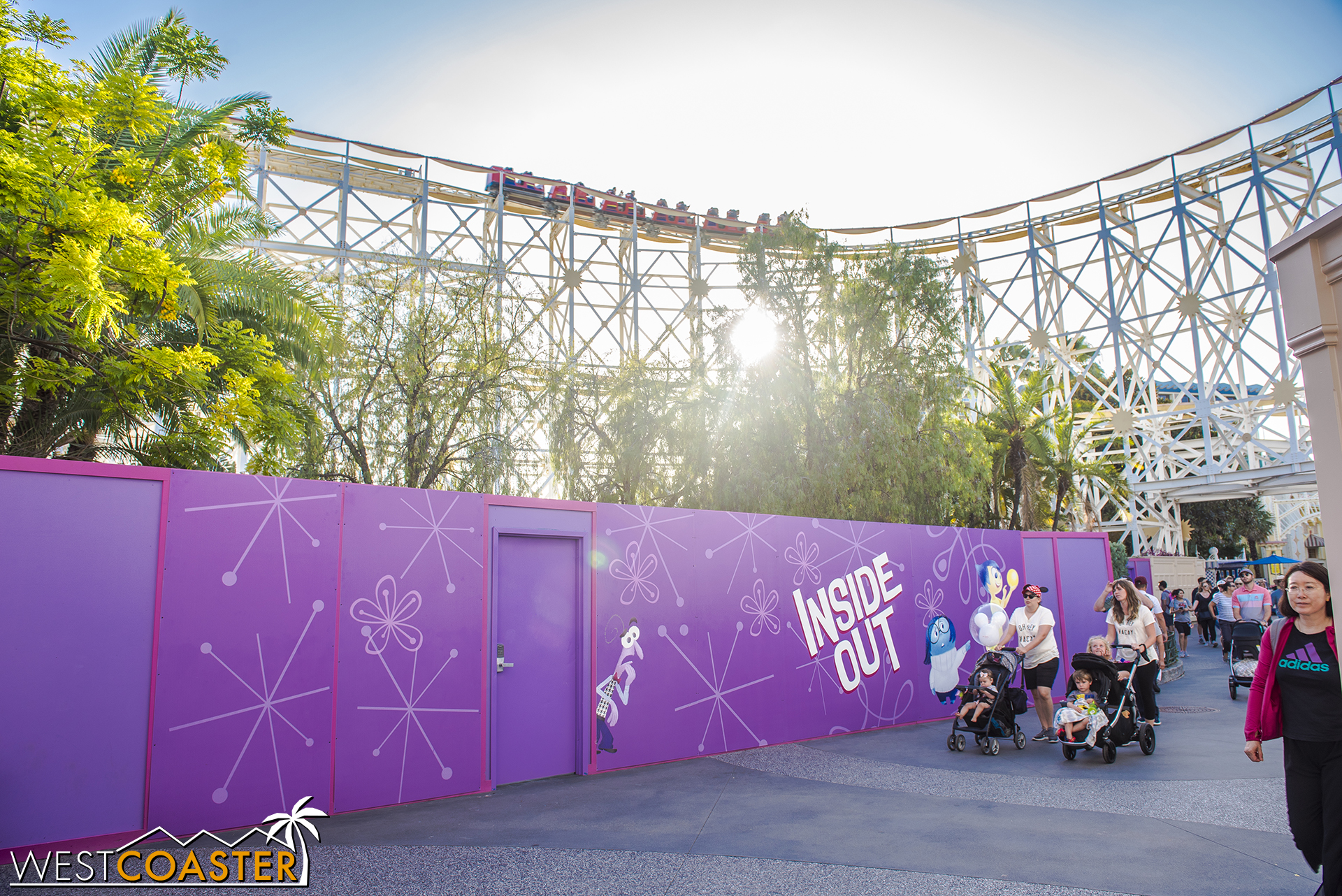 Coming soon, a spinning ride!