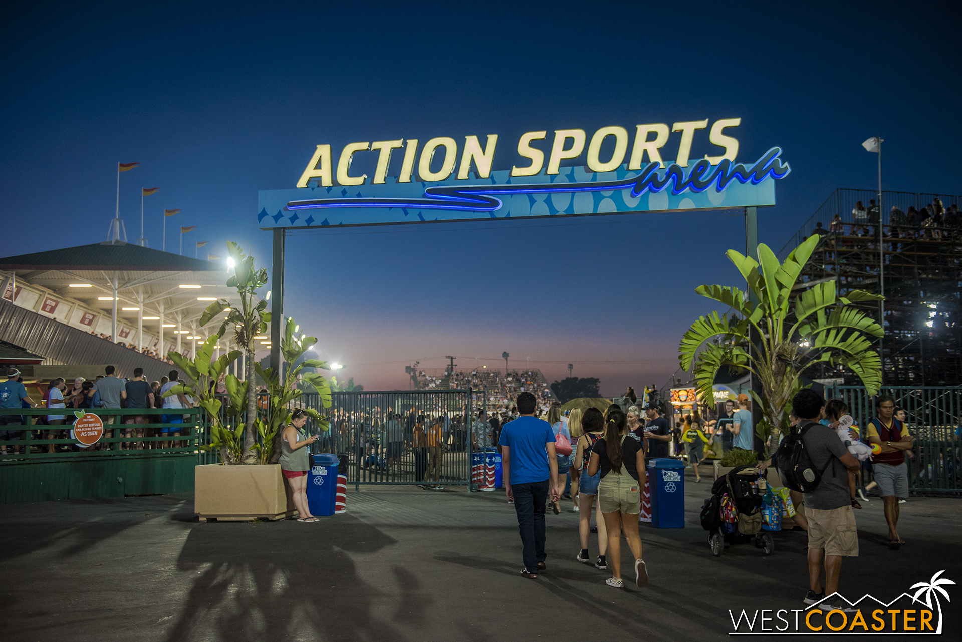 In the Livestock area, the Action Sports Arena also hosts live entertainment in the form of motorcross races, demolition derbies, and other high adrenaline shows.