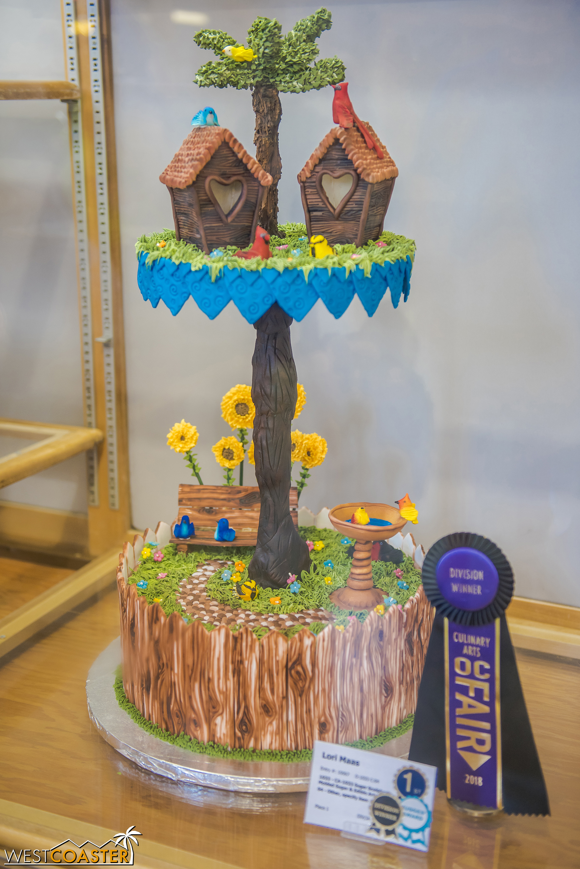 There are a lot of pretty amazing baking creations, and even familiar names who seem to rack up wins every year.