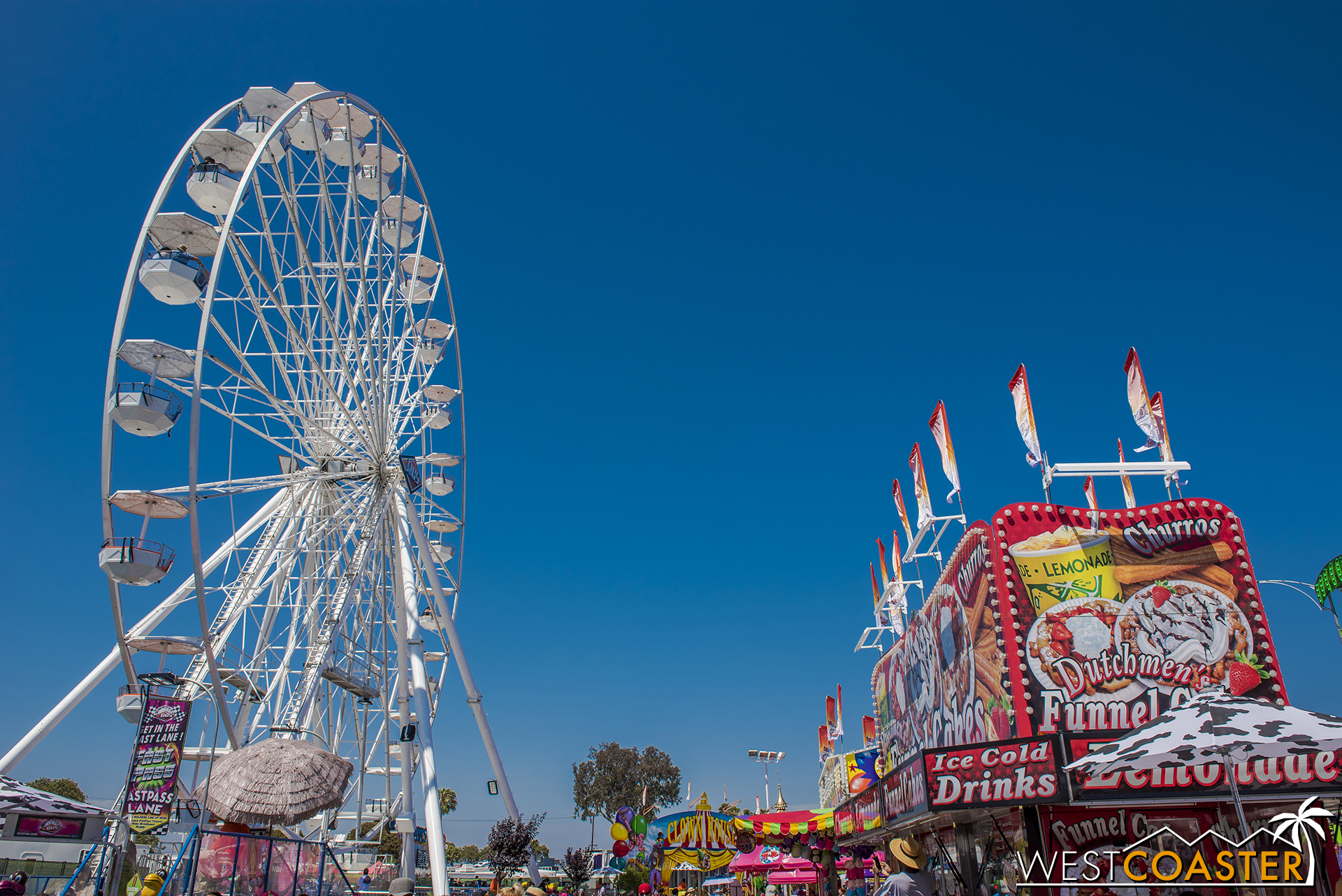 It ain't the fair without the rides.