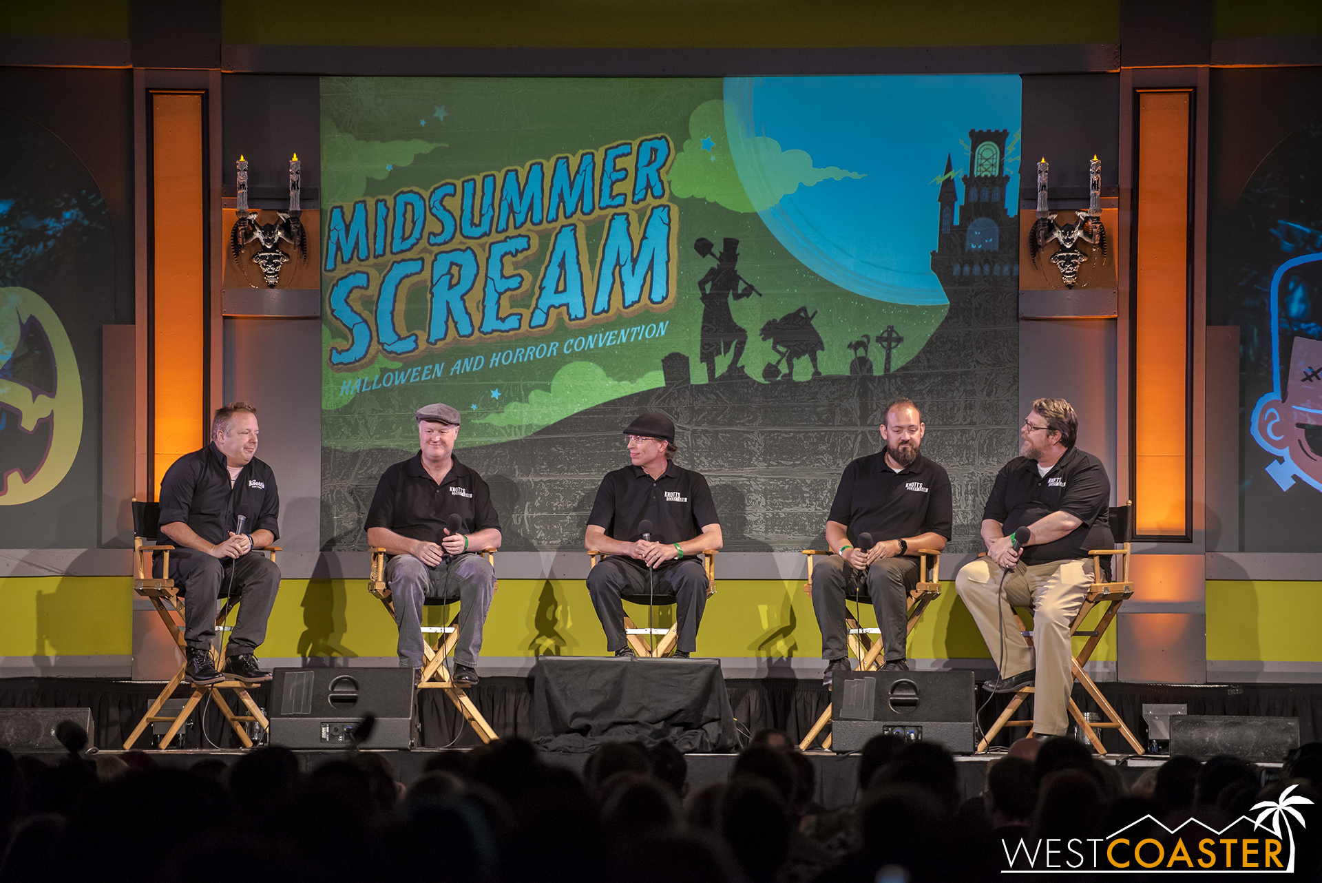 The Knott's Scary Farm panel spoke about bringing new levels of immersive activity and unadvertised show moments to last year's Scary Farm and introduced a bit of what to expect for this year.