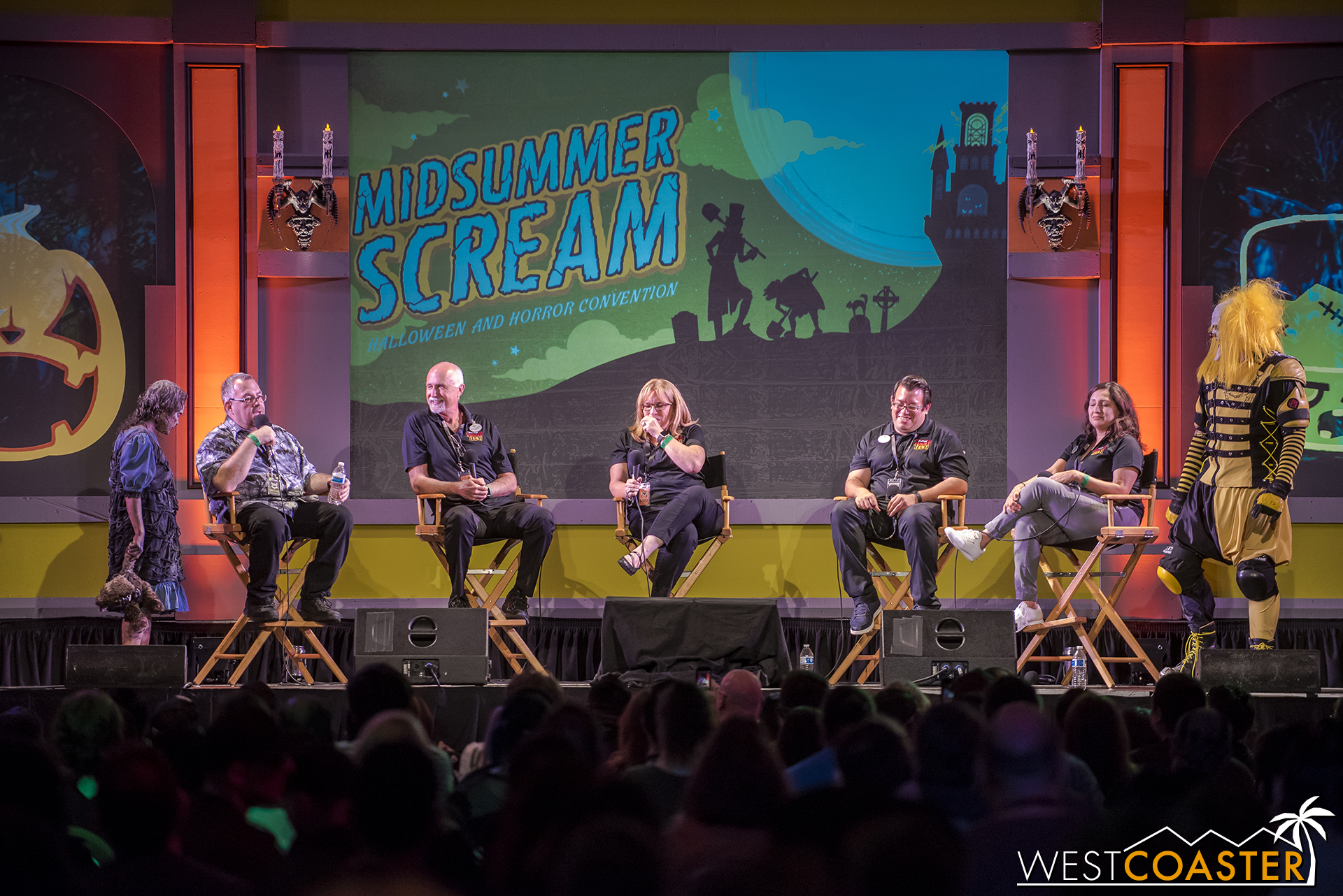 Six Flags Magic Mountain Fright Fest spilled all the beans on this year's event and brought some creatures to help reinforce their mission to scare.
