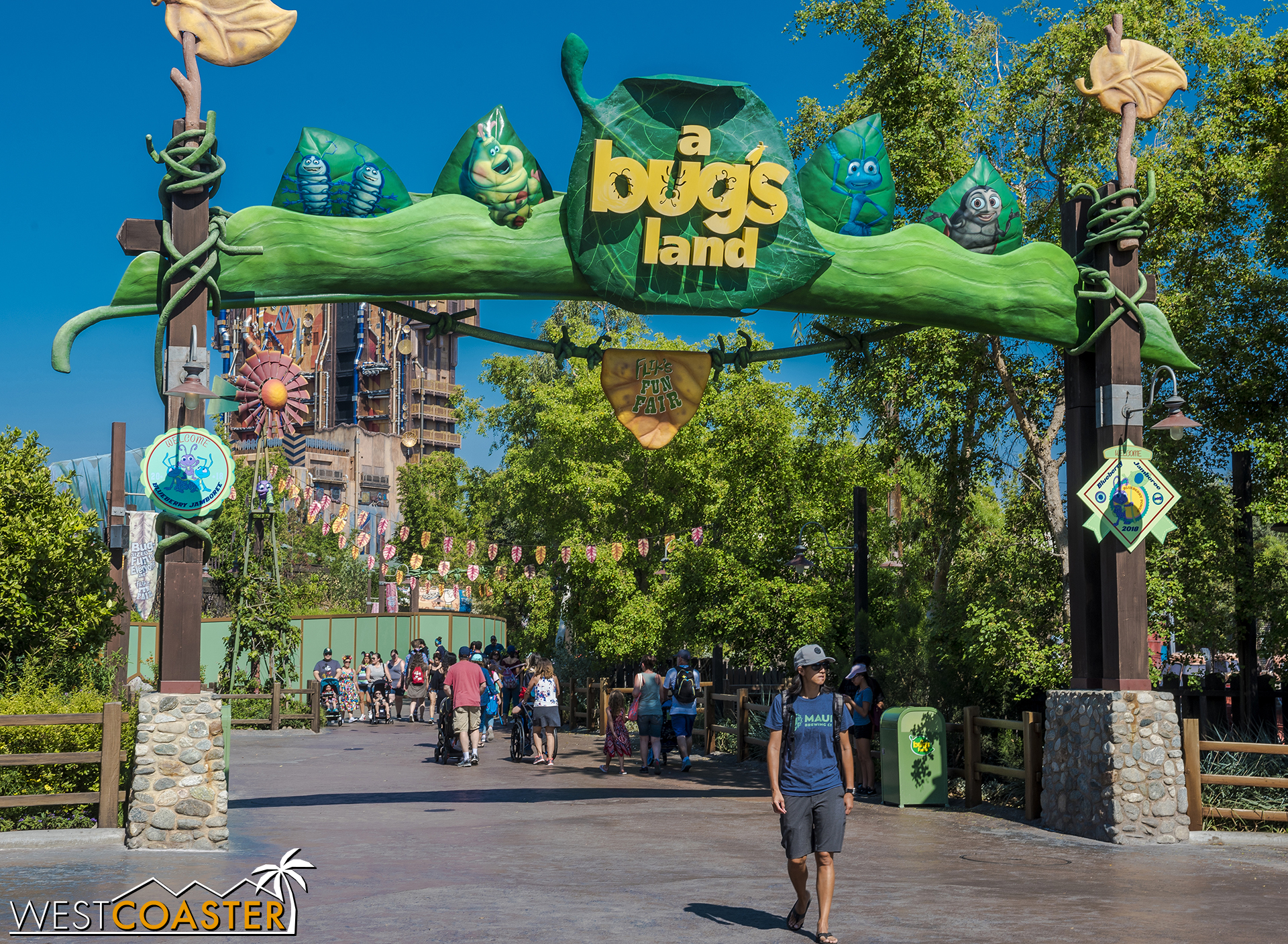 A Bug's Land  will close after September 4th .  You have until Labor Day weekend to enjoy it.  And by you, I mean your kids dragging you to one of the few places in DCA with rides oriented to young children.