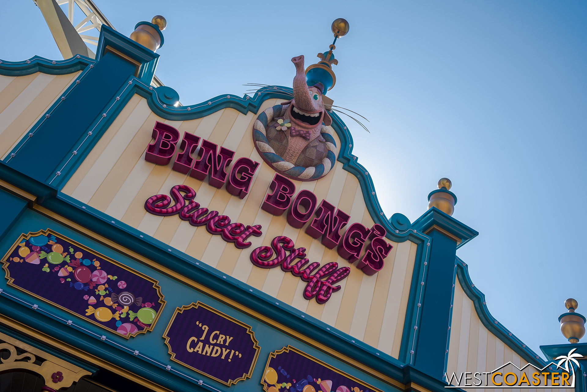 I do like its exterior aesthetic, which reinforces that classic seaside amusement park pier look better.