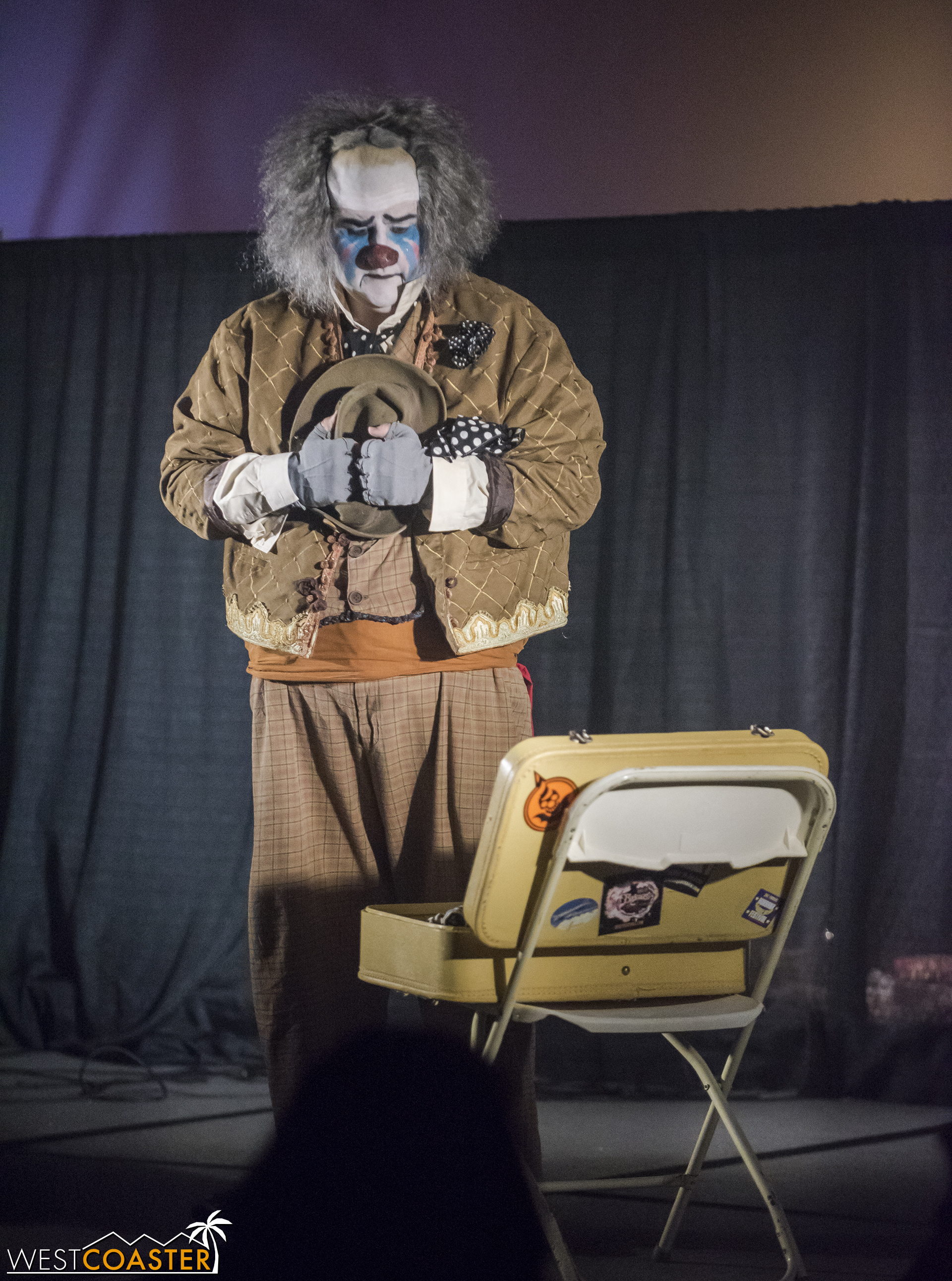 It also had Cecil the Sad Clown doing the most hilariously sad burlesque ever.