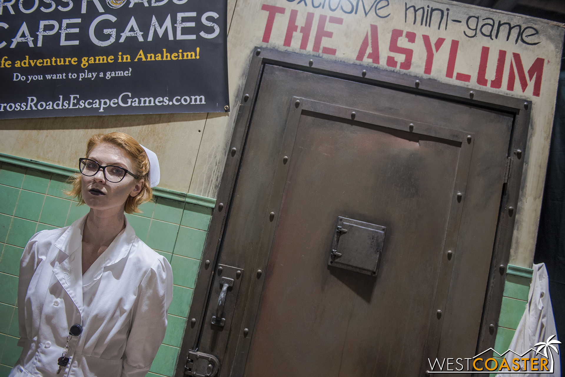 Crossroads Escape Games was once again back with its mini-escape room.