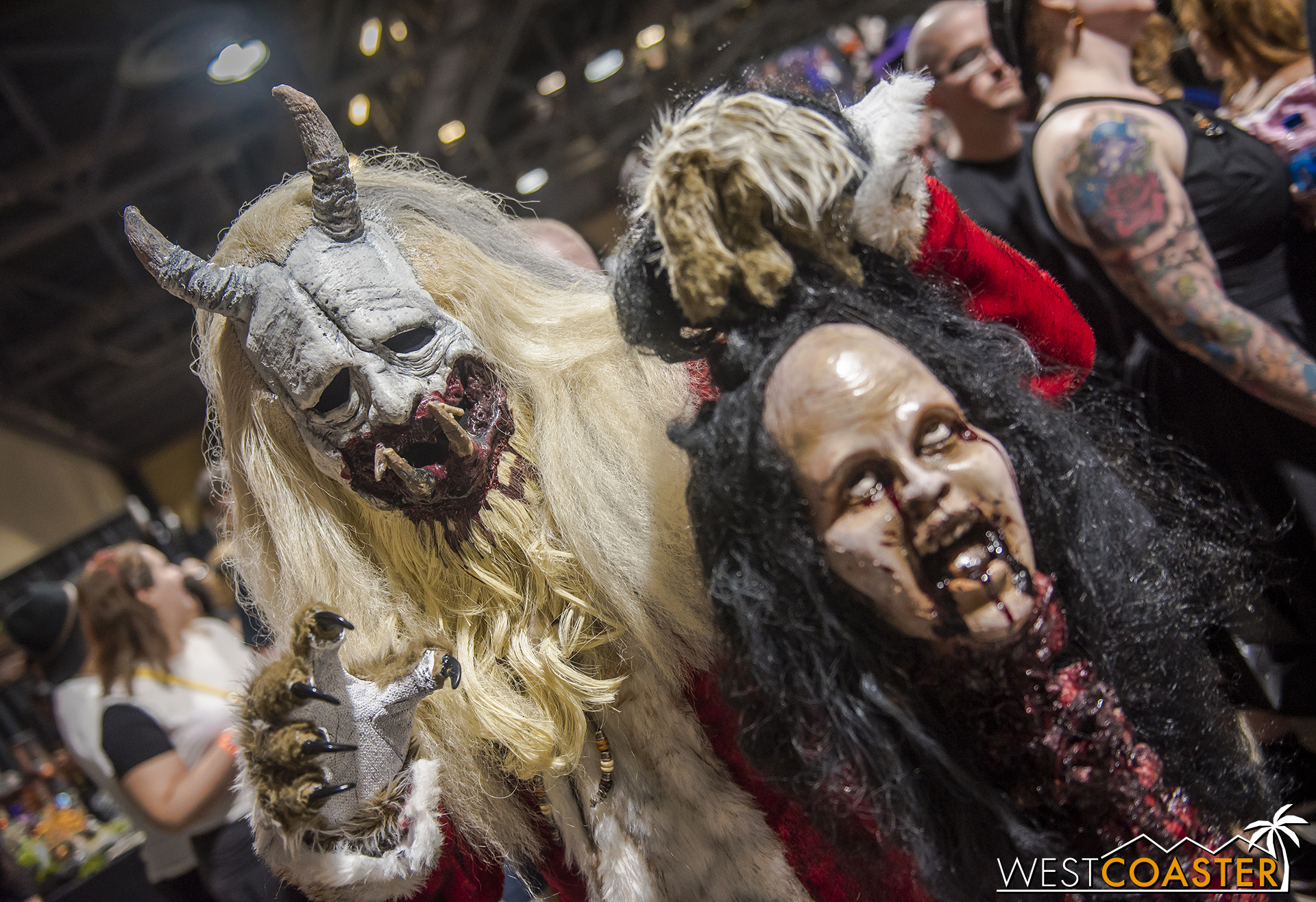 Another Midsummer Scream, another Krampus sighting. And a bloody victim!