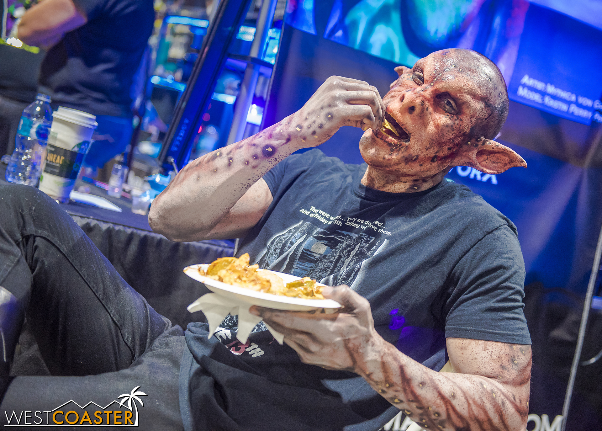 Hey, even a goblin's gotta eat. And not always people!