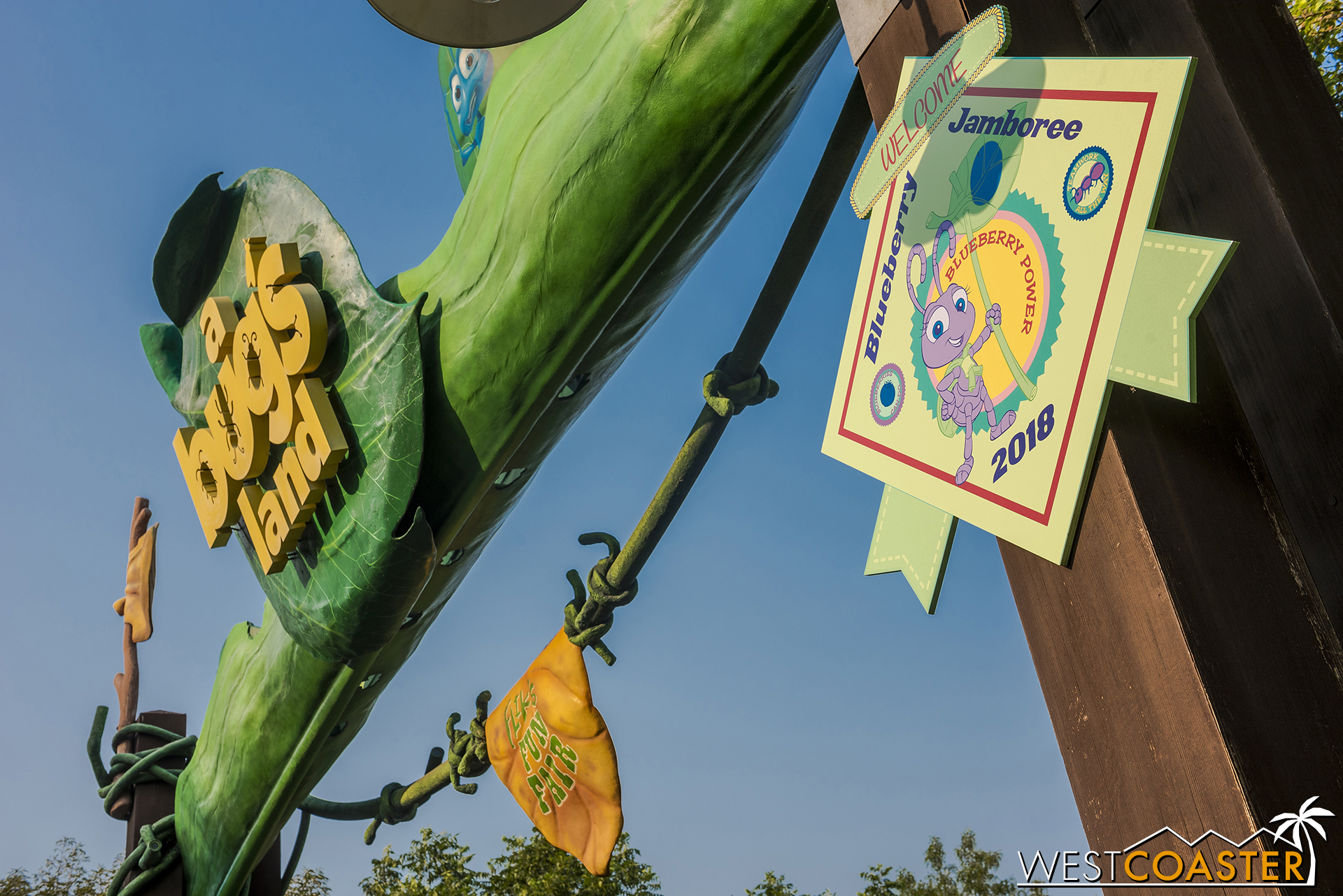 Soon, A Bug's Land will go kersplat.