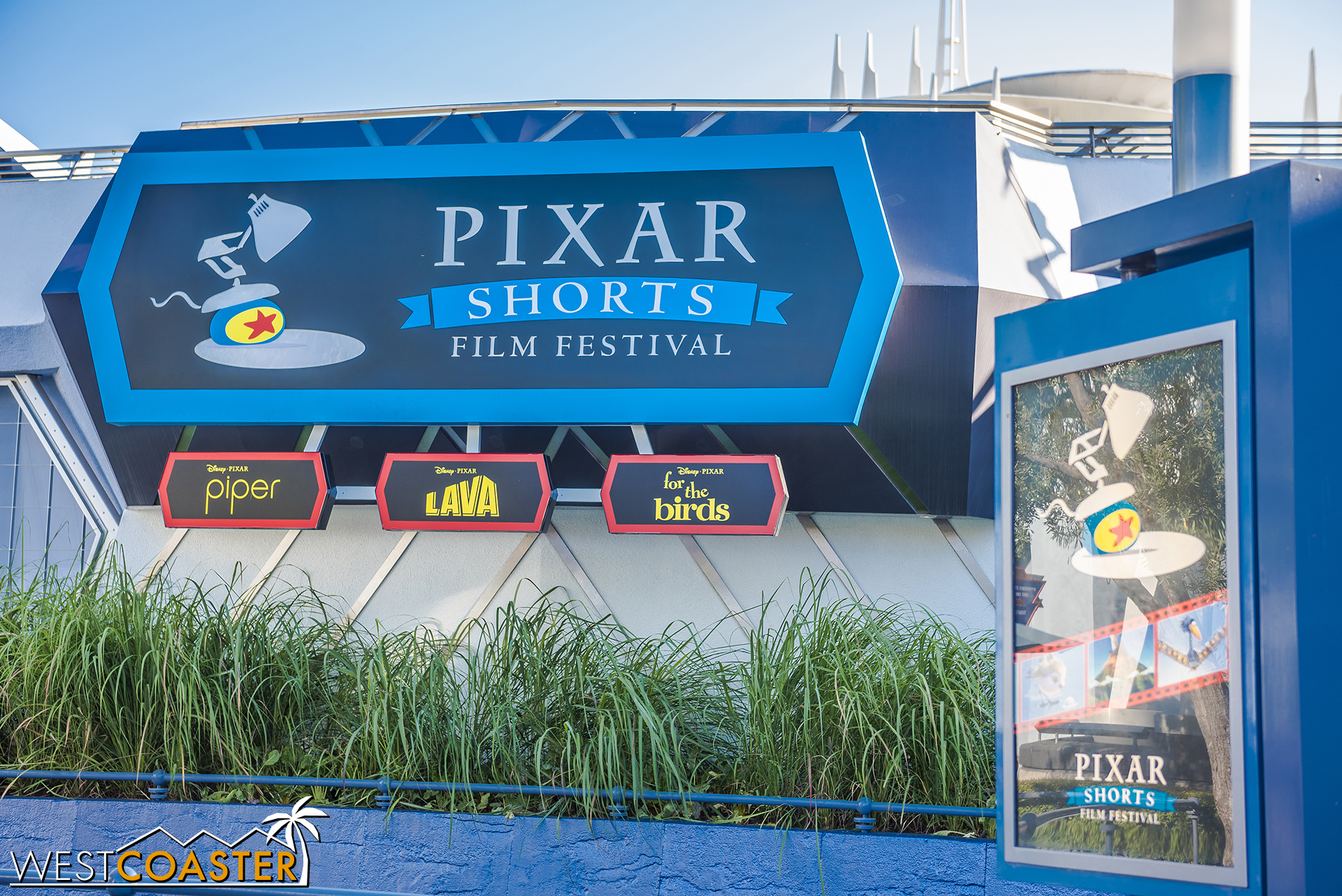 By the way, if you missed these three Pixar shorts when they were in the old Muppetvision theater, you can catch them at in Tomorrowland.