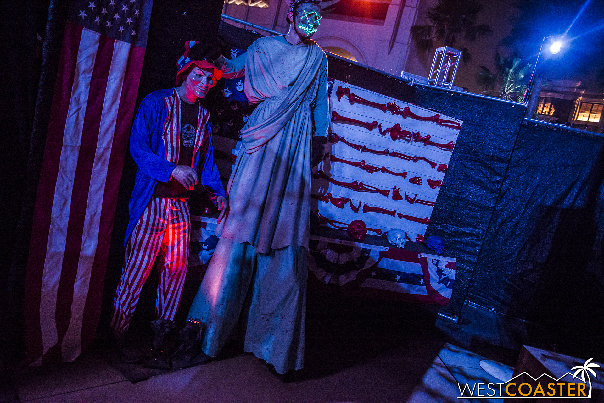 As good as clockwork, this year's Halloween Horror Nights features another Purge.