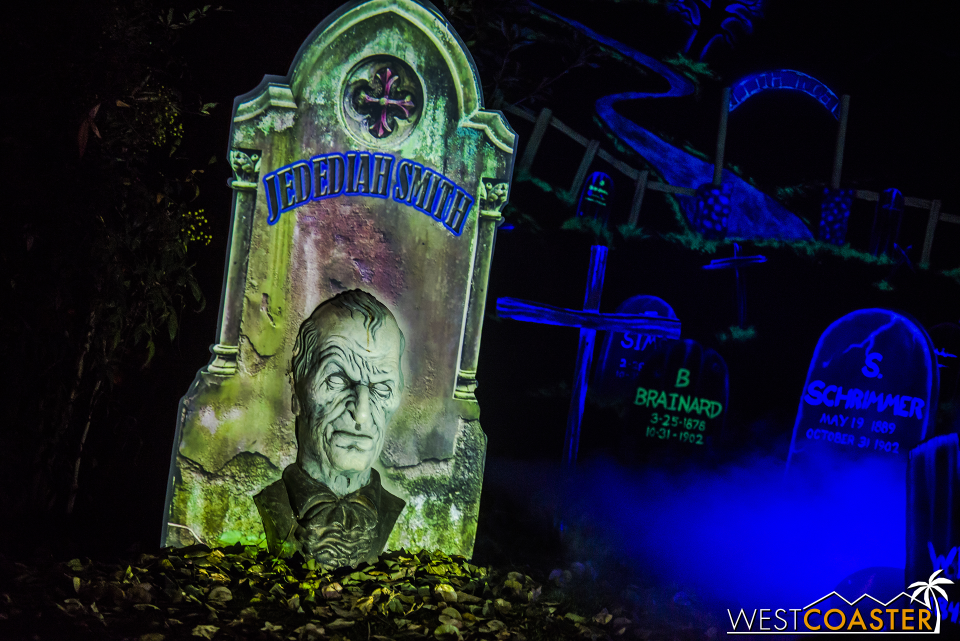 Boot Hill boasts one of Orange County's longest-running and most-beloved haunted yard displays.