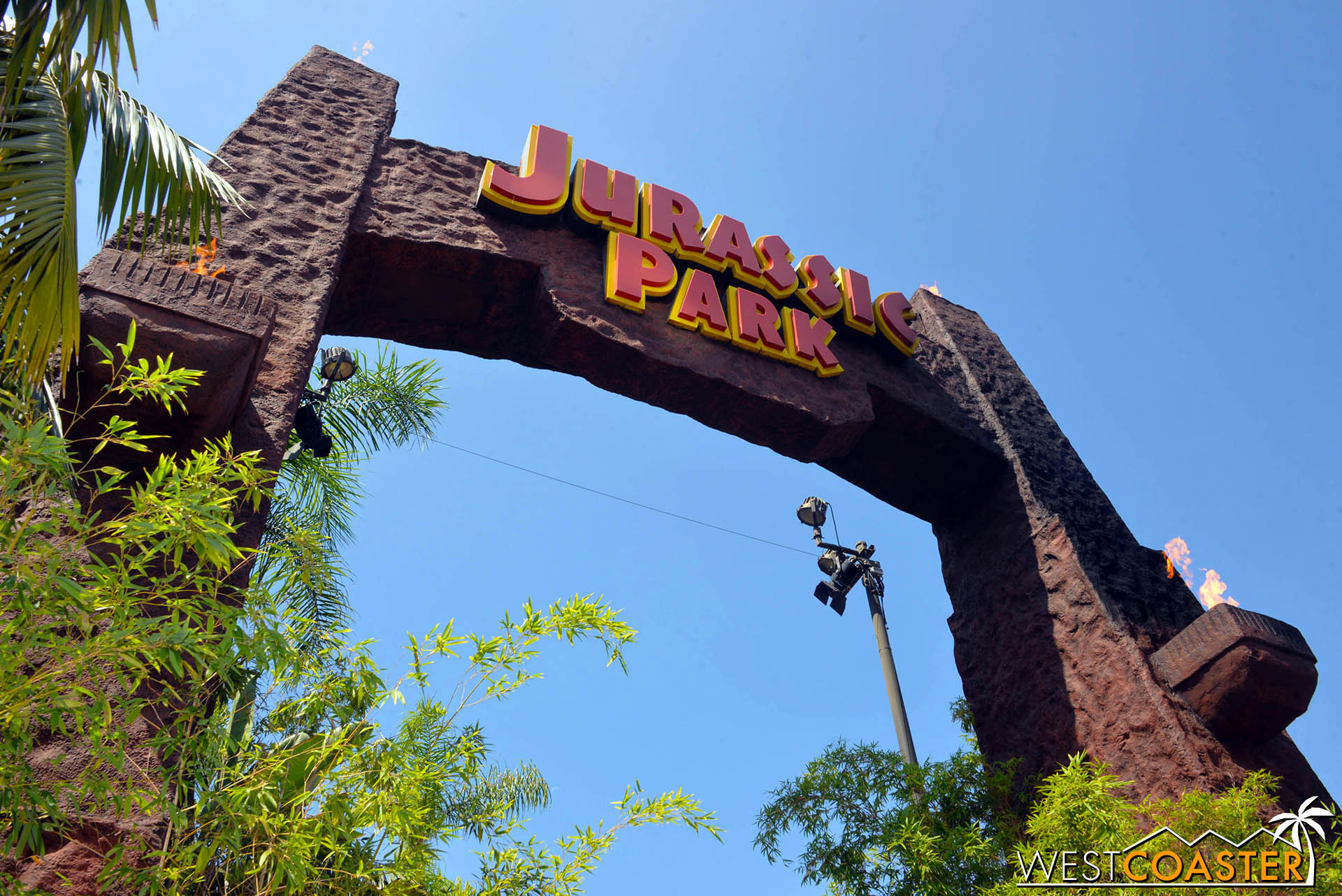 Walking under the iconic sign was definitely exciting and trepidatious for many a JP fan.