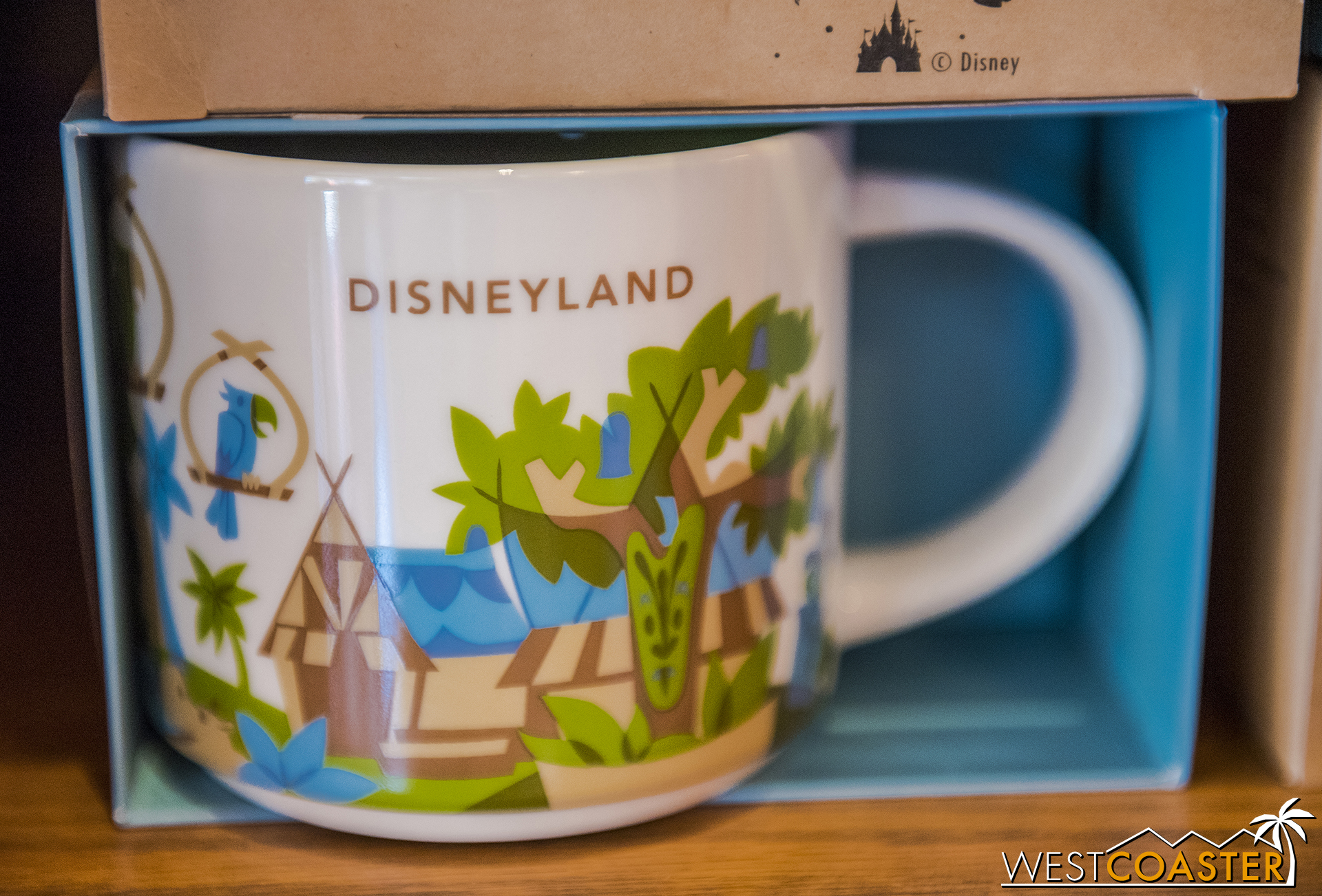 New Starbucks Adventureland mug.