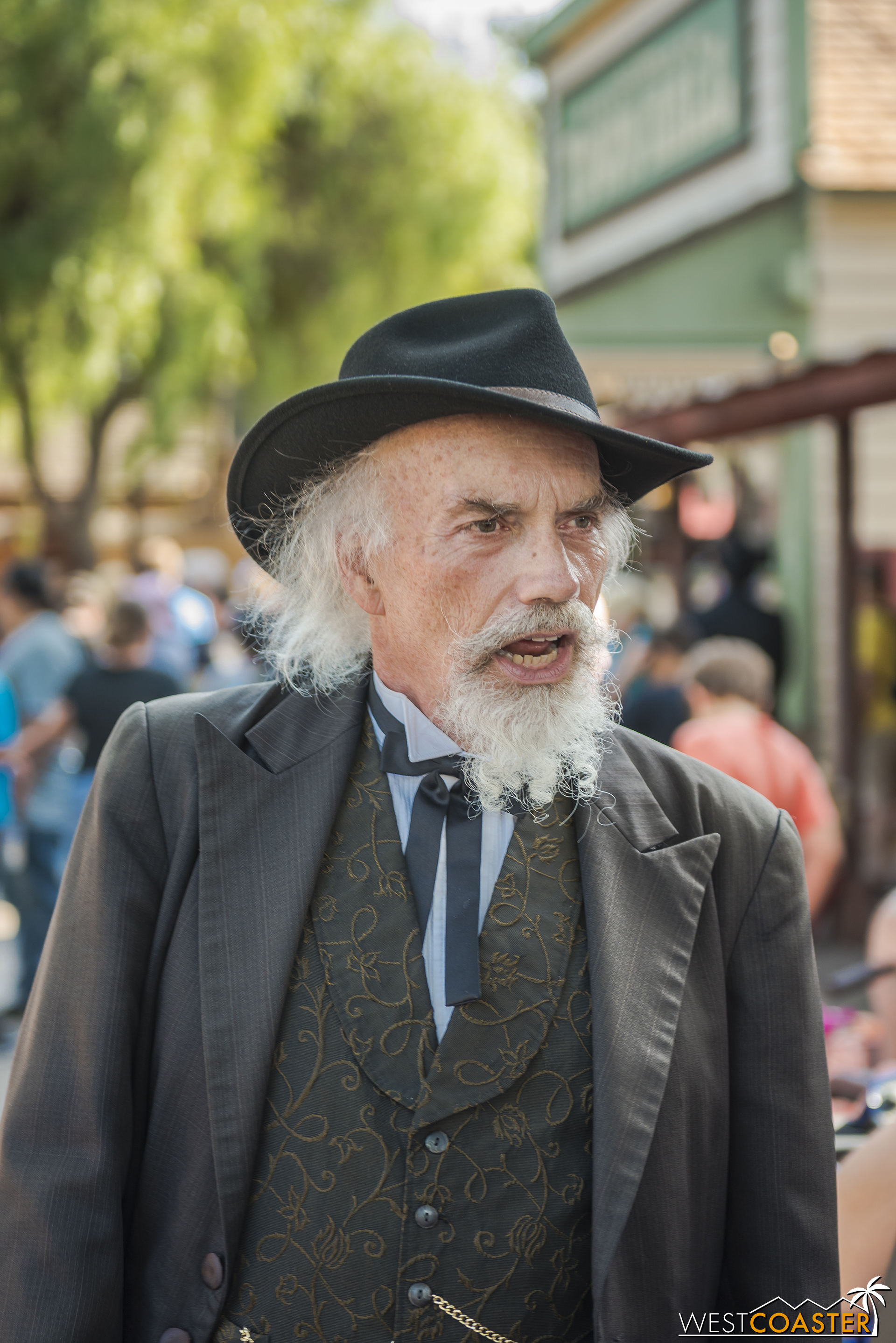Judge Roy Bean keeps order in the town.  Or tries to.