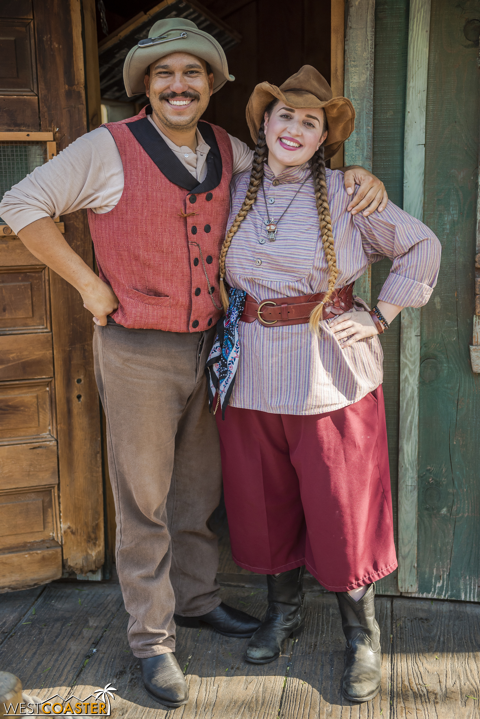 """Her father, """"Peg Leg"""" Cinch, has made it a point to be more involved in his daughter's life ever since he came back to Calico after striking it rich with the largest gold nugget in these parts."""