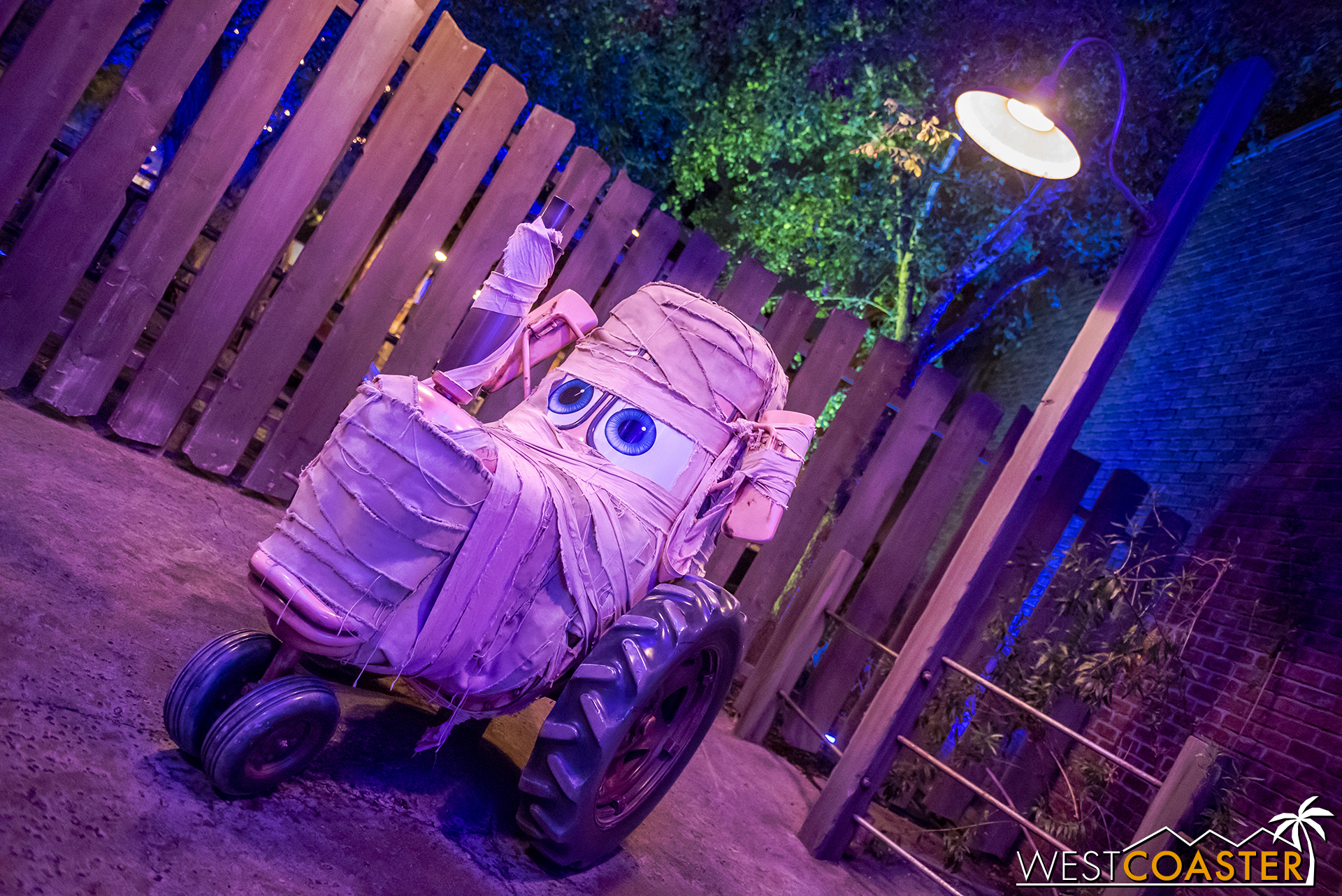 And Mater's tractors have gotten the mummy treatment.  Or MOOmmy treatment?