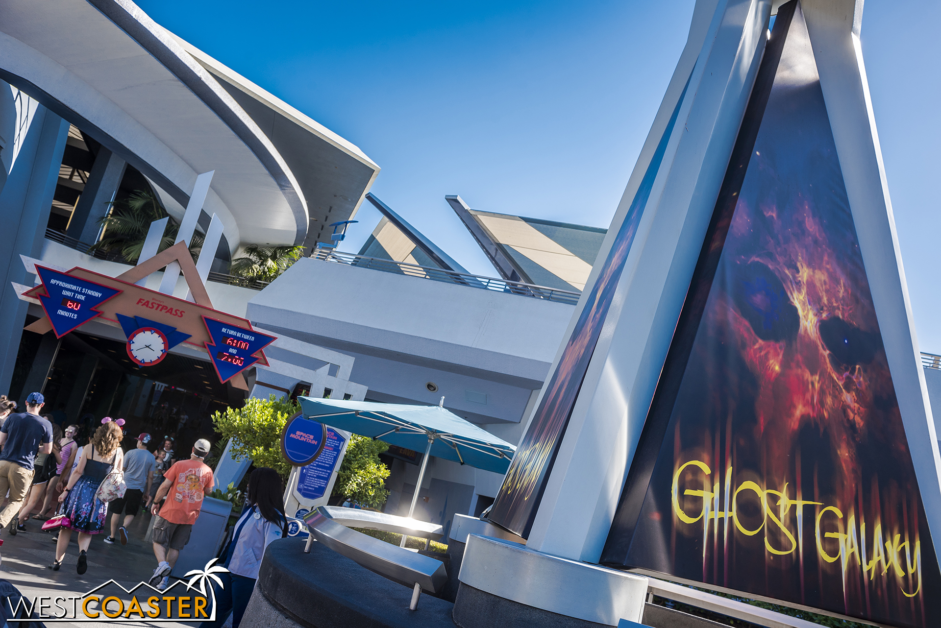 Ghost Galaxy is back, which means expect longer lines at Space Mountain than usual.