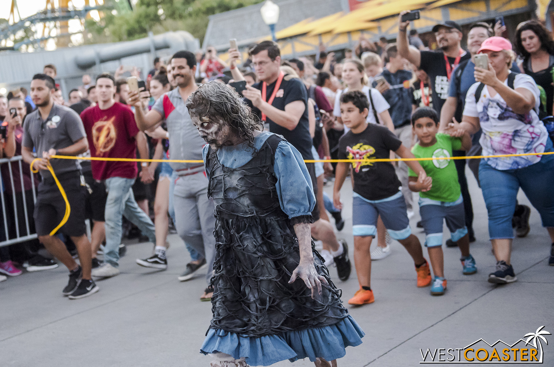 But it's a beloved and traditional moment unique to Fright Fest!