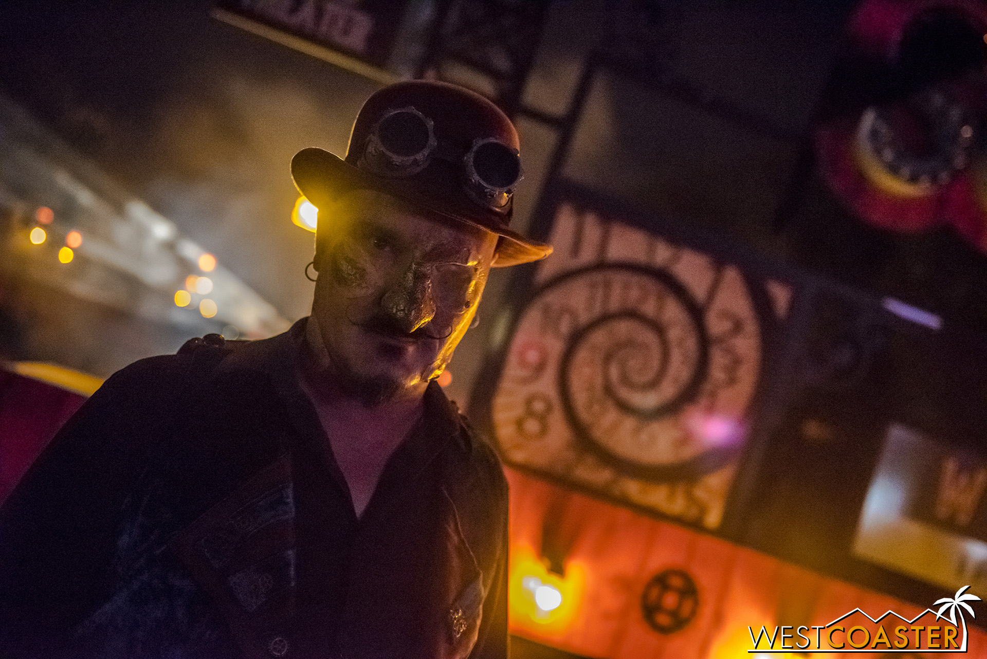 A haunted steampunk look pervades TERRORtory Twisted.