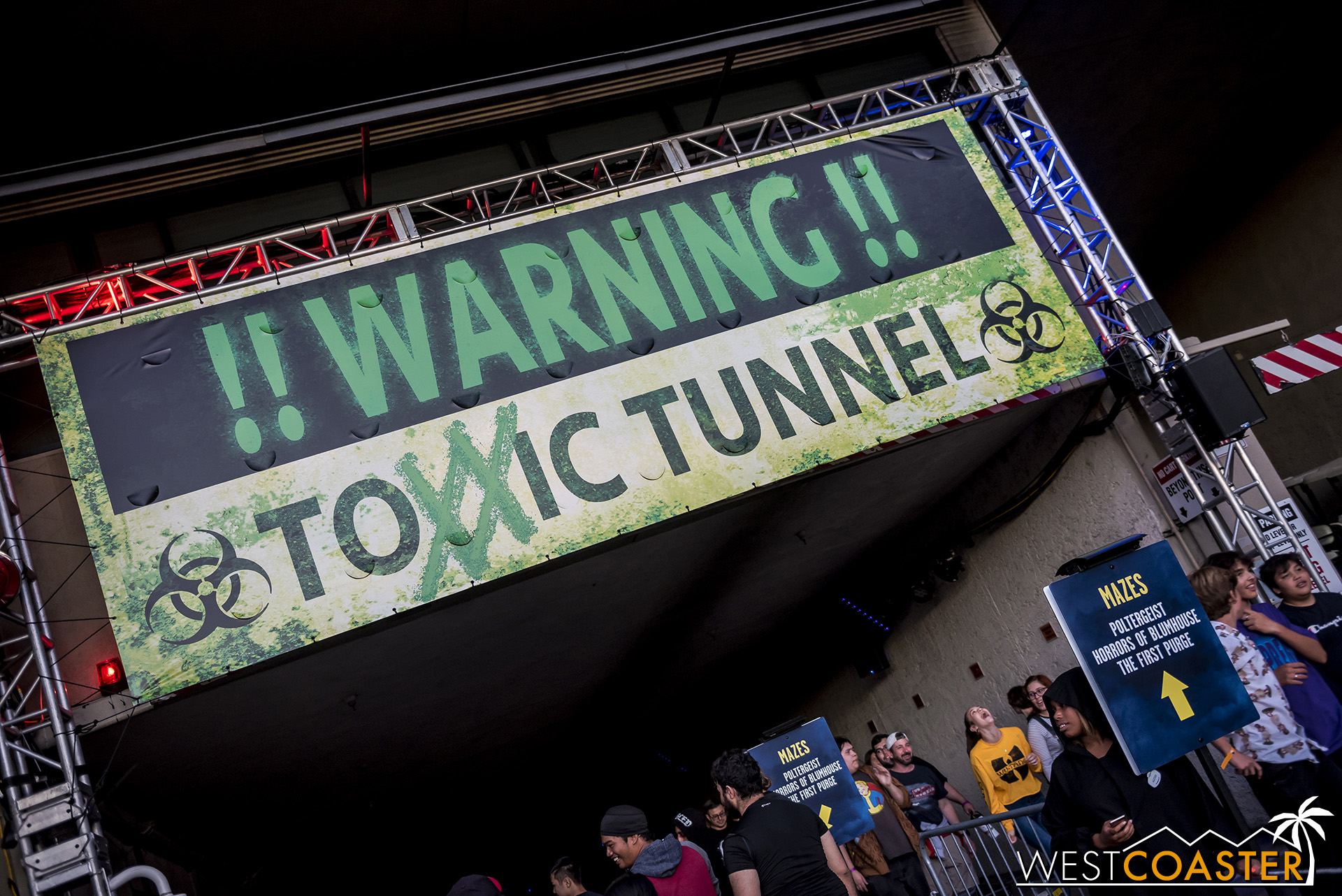 The Toxxic Tunnel! This year with another X!