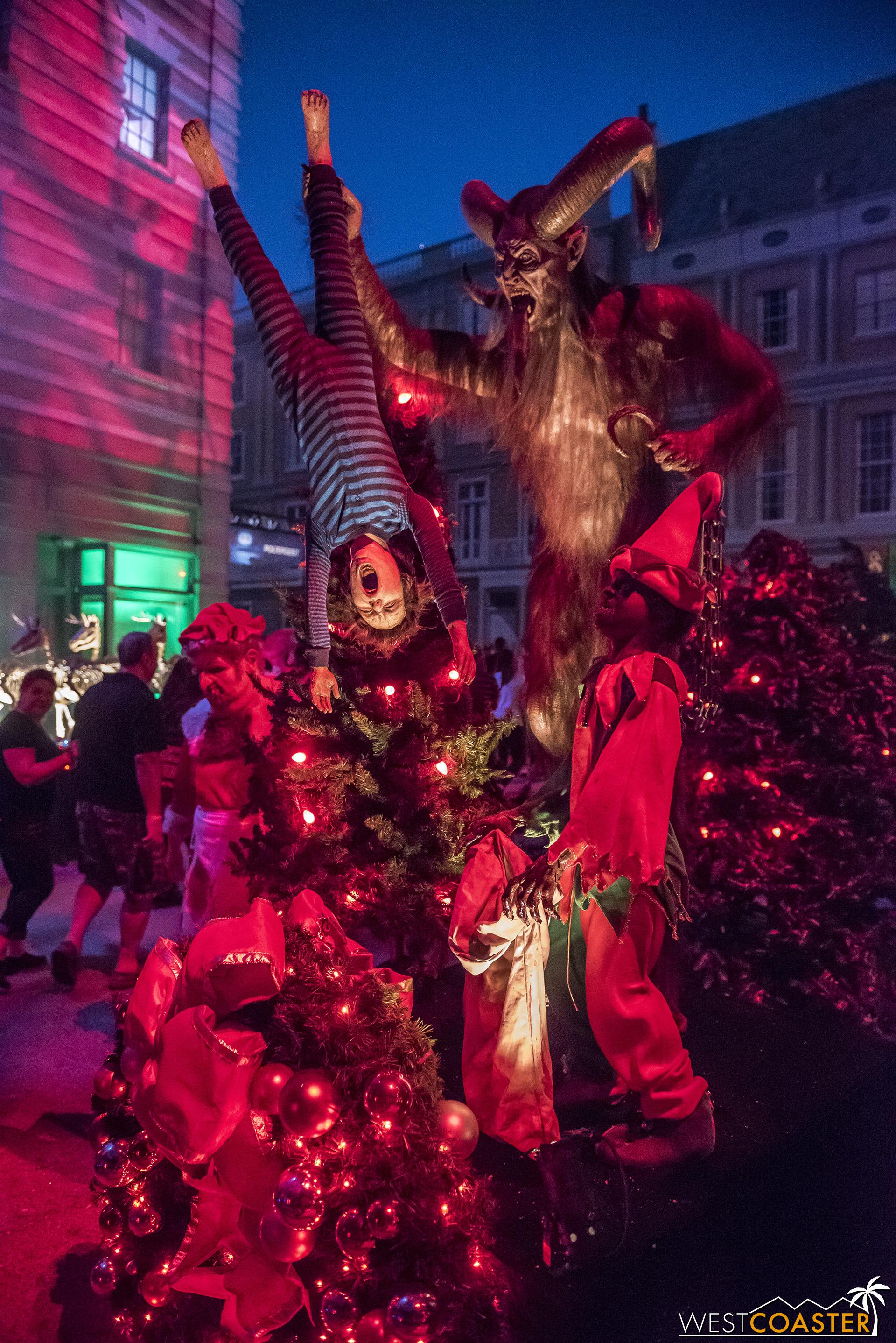 And finally, Christmas! Dark Christmas.