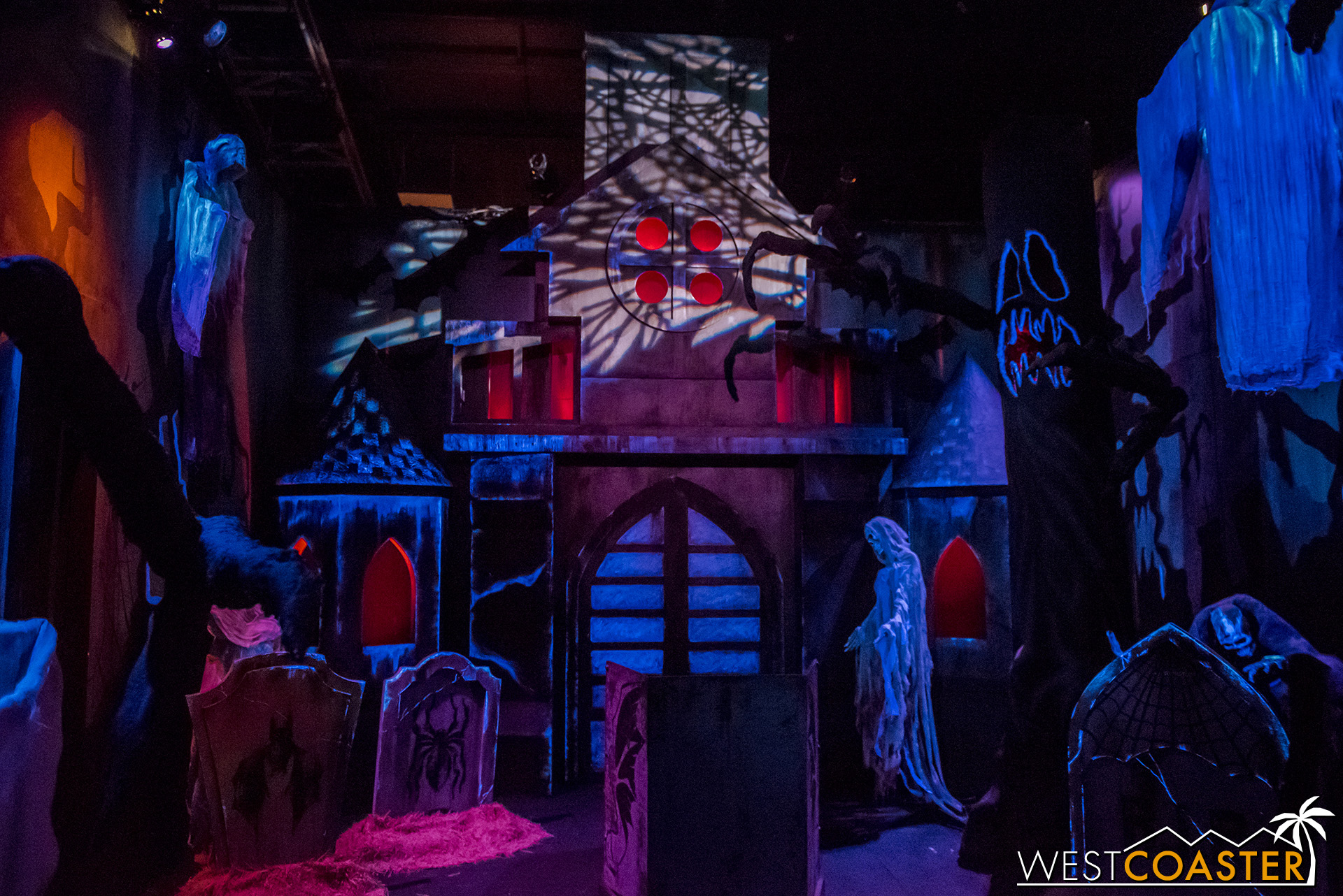 Dark Ride is a tribute to the corny, over-the-top, charming traveling amusement park rides of many people's youths.
