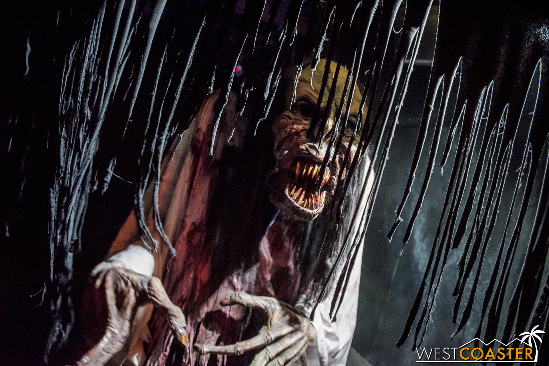 The scale of some of the scare elements is pretty impressive in Shadowlands. And even if they don't startle, they're still eagerly creepy.