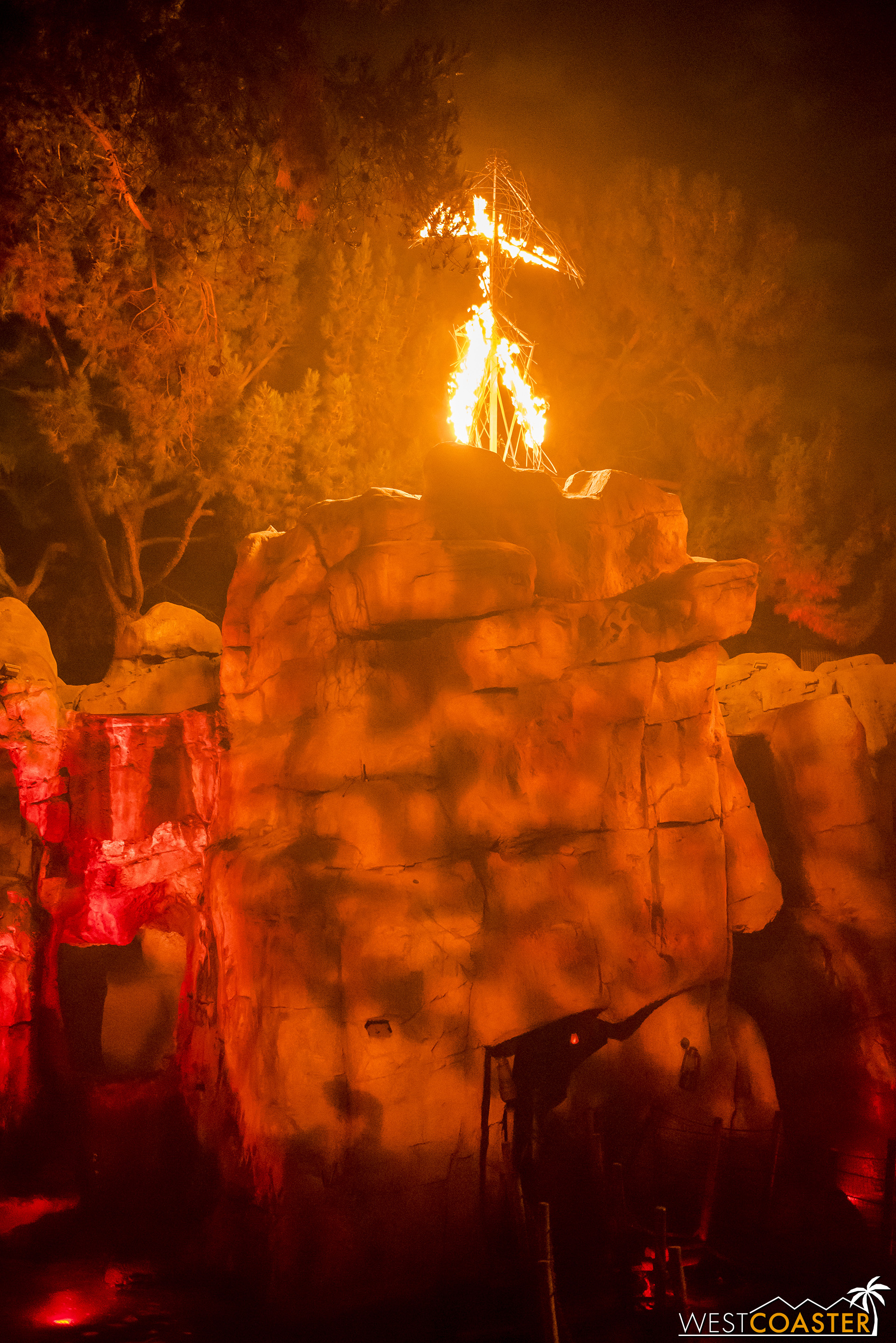 And the Wicker Man burns…