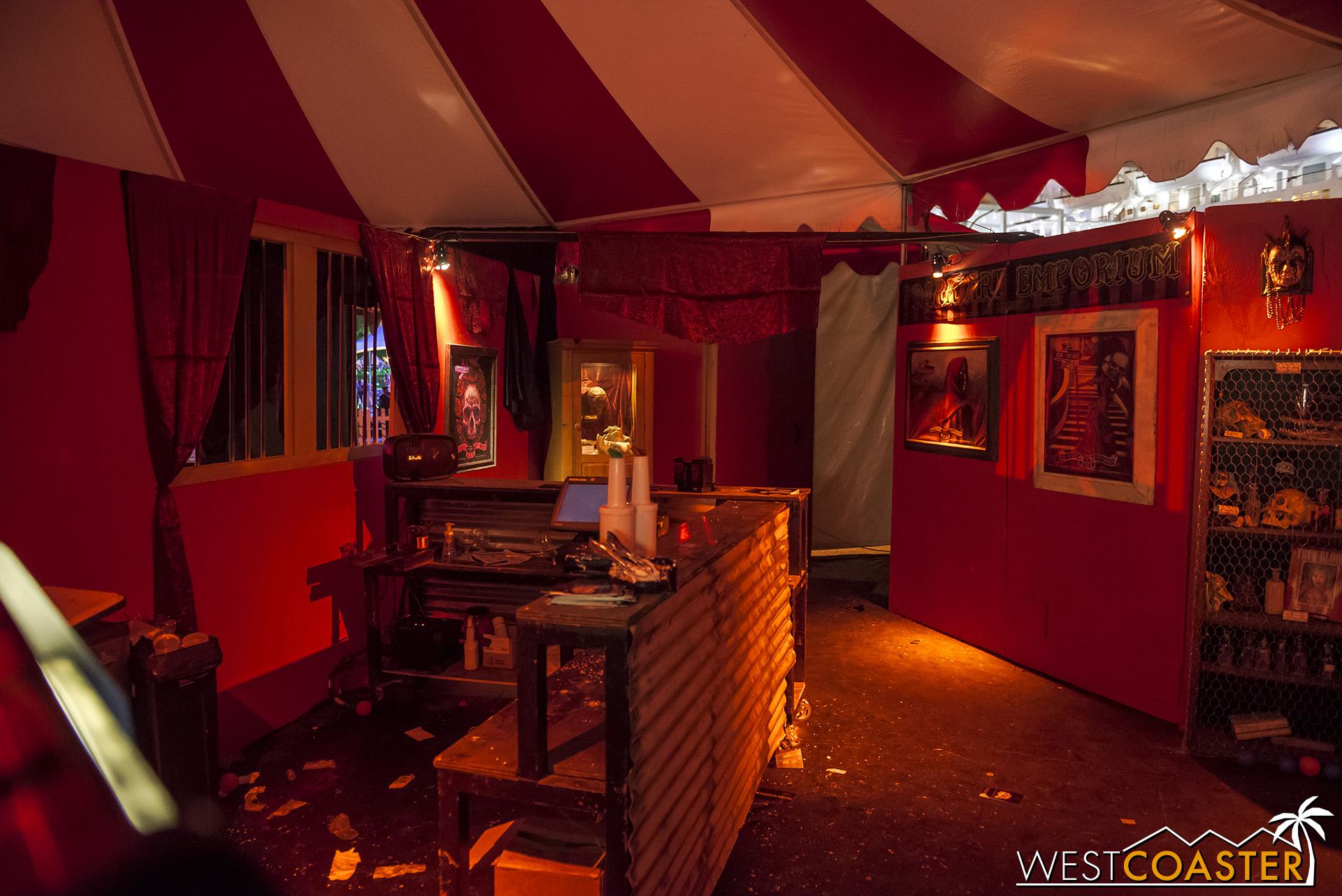 Circus' Sidebar bar after hours.