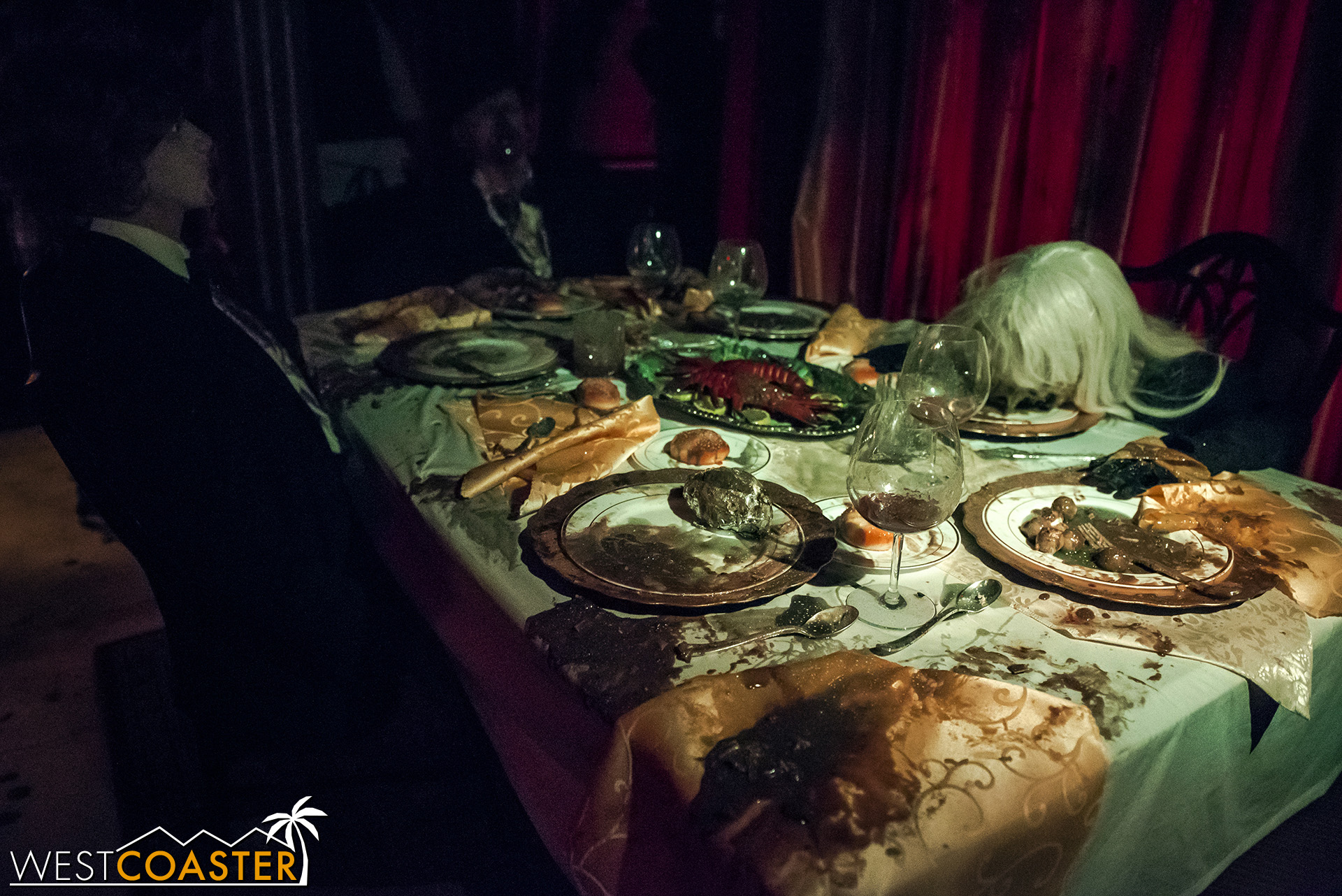 The theming in Feast has been enhanced and made to look even more disgusting.