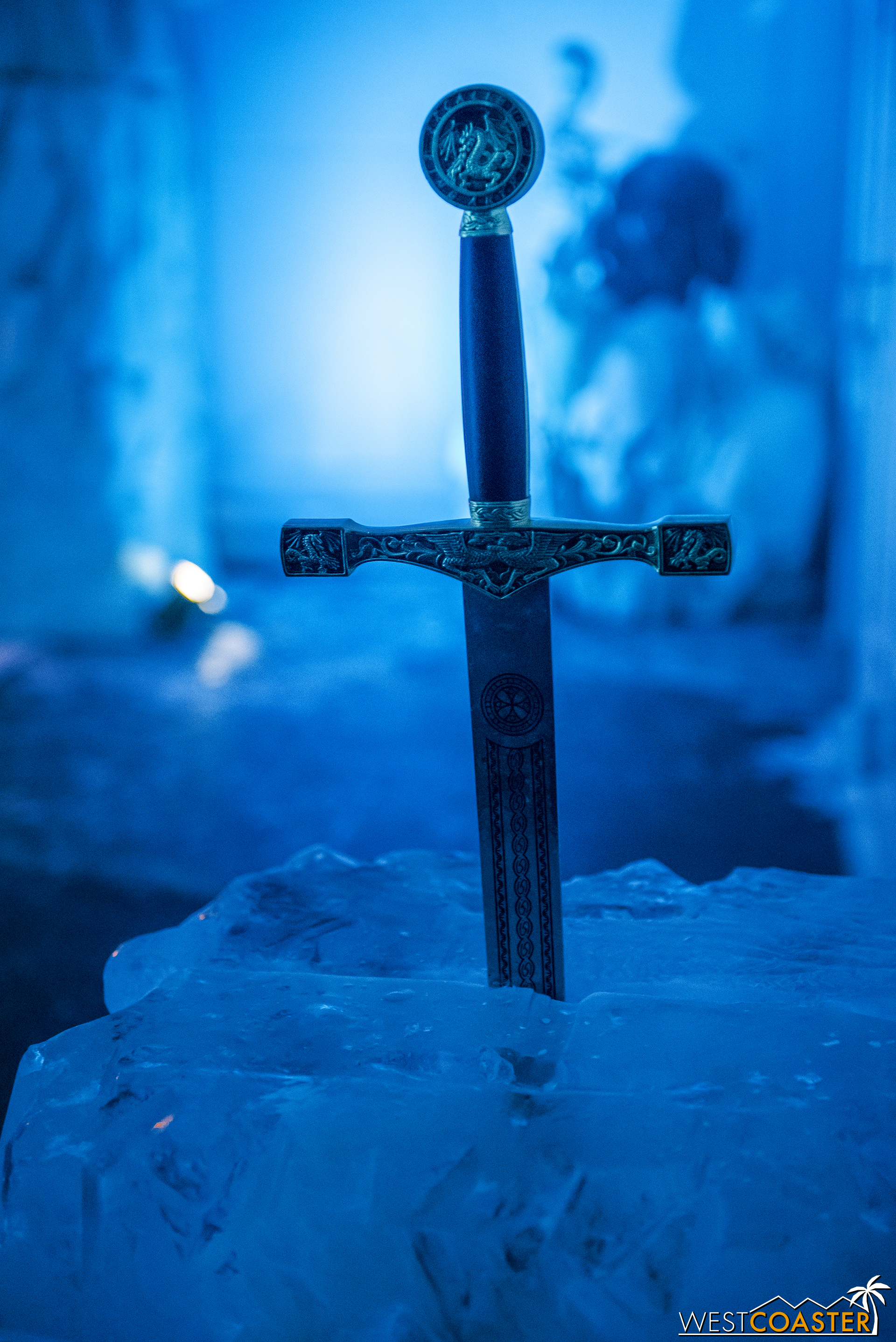 The sword in the ice stone.