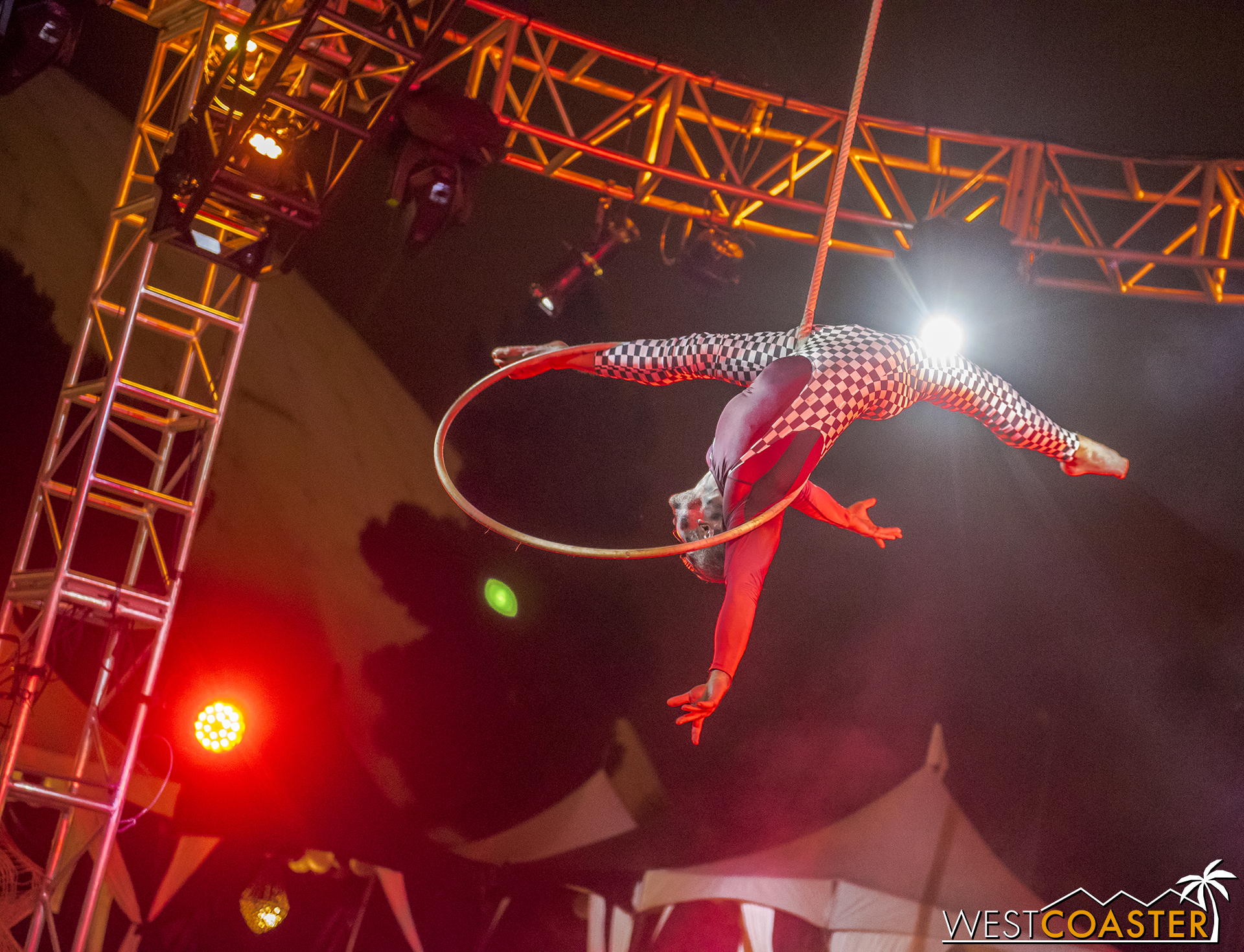 Dark Harbor has a lot of very athletically and gymnastically talented performers.