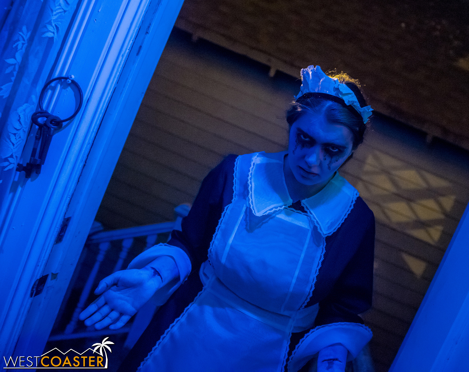 This maid is here to serve… you up to the demons.