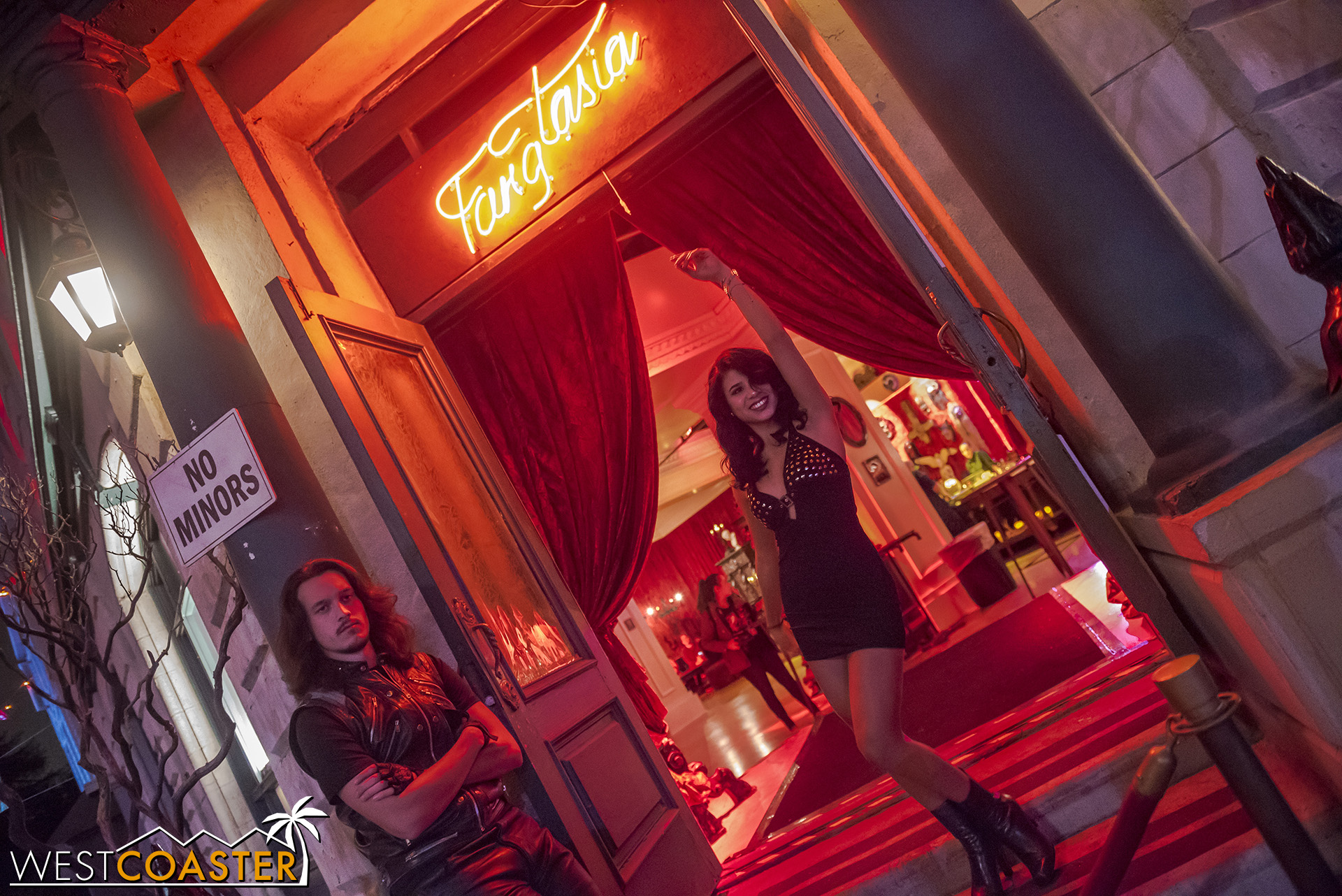 Fangatsia is themed to the famous  True Blood  bar.