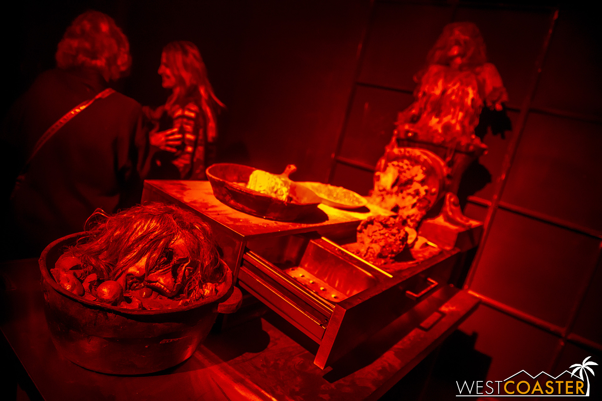 Dinnertime at the House of Shadows is a bit… unsanitary.