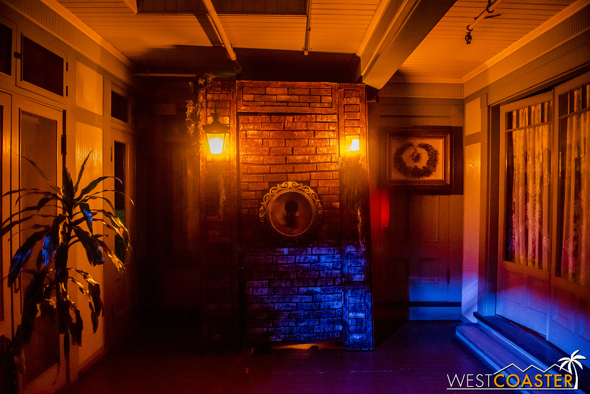 One of the 13 Doors within this year's Hallowe'en Candlelight Tour.