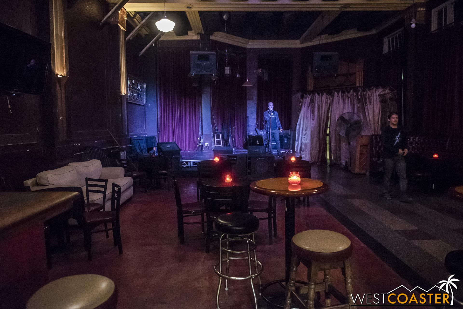 Guests can also duck into the bar next door at the Cafe Club Fais Do-Do.
