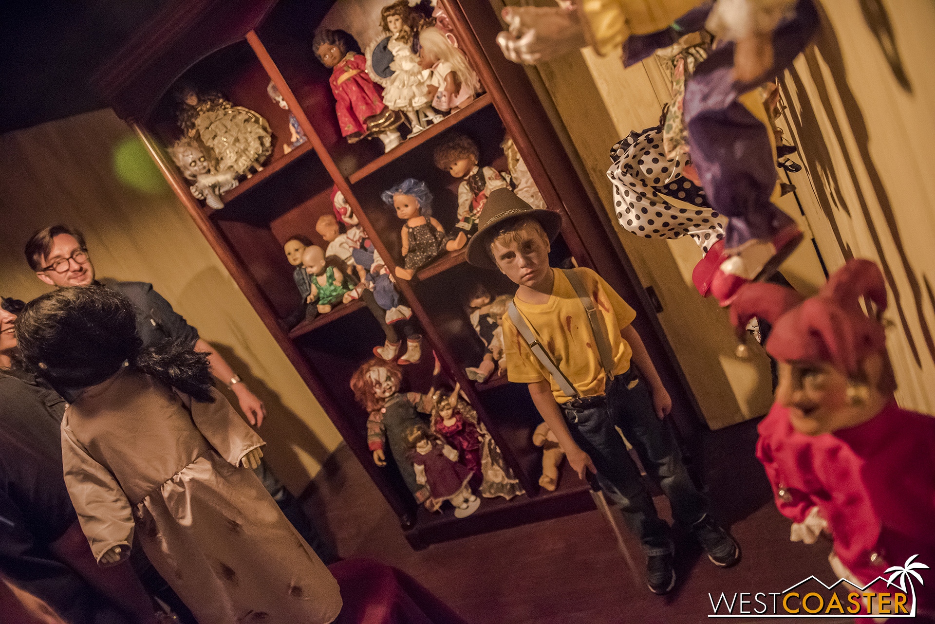 A doll-phobic's worst nightmare.